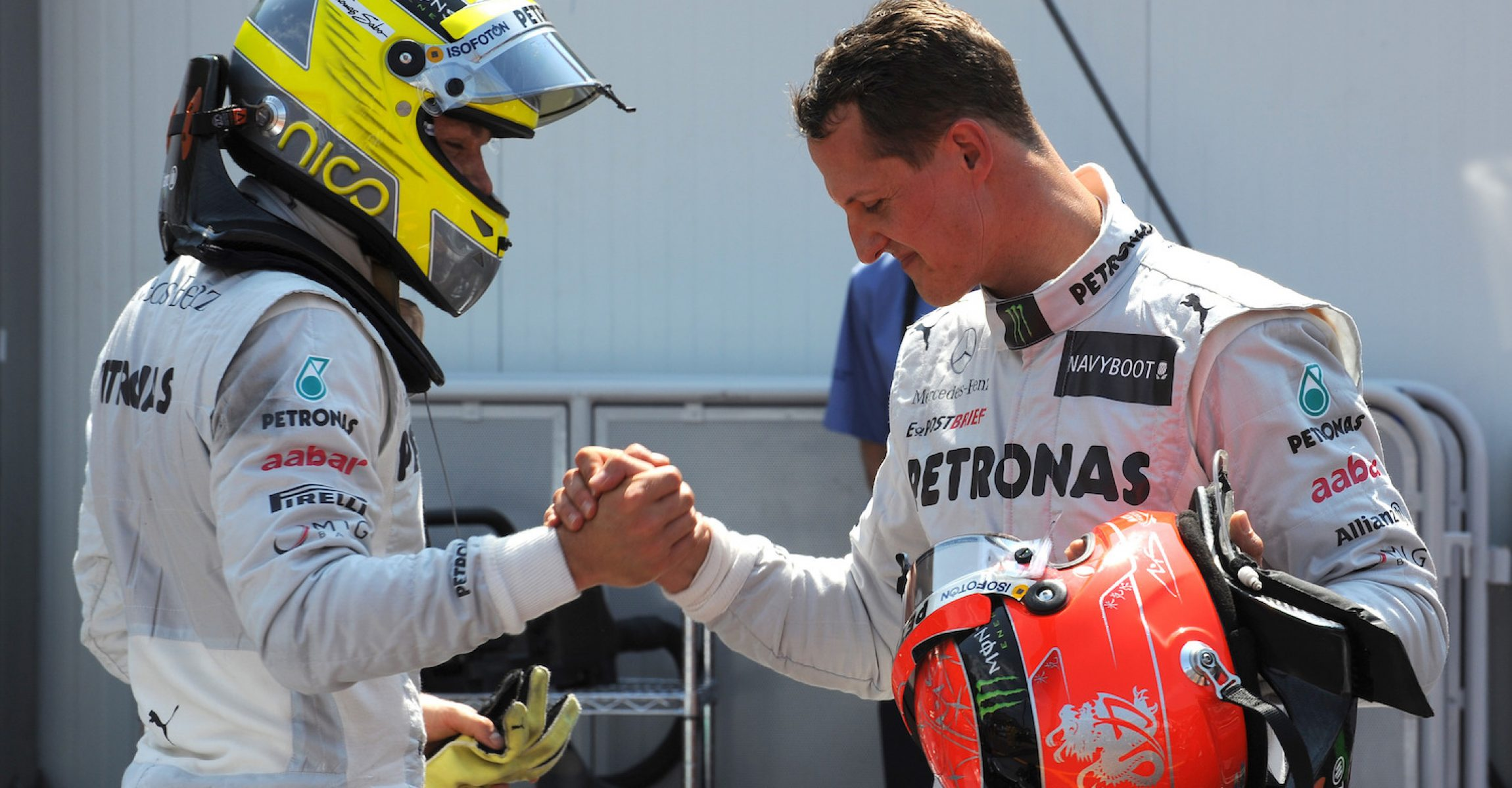 2012 Monaco Grand Prix, Saturday - Wolfgang Wilhelm Nico Rosberg, Michael Schumacher, Mercedes