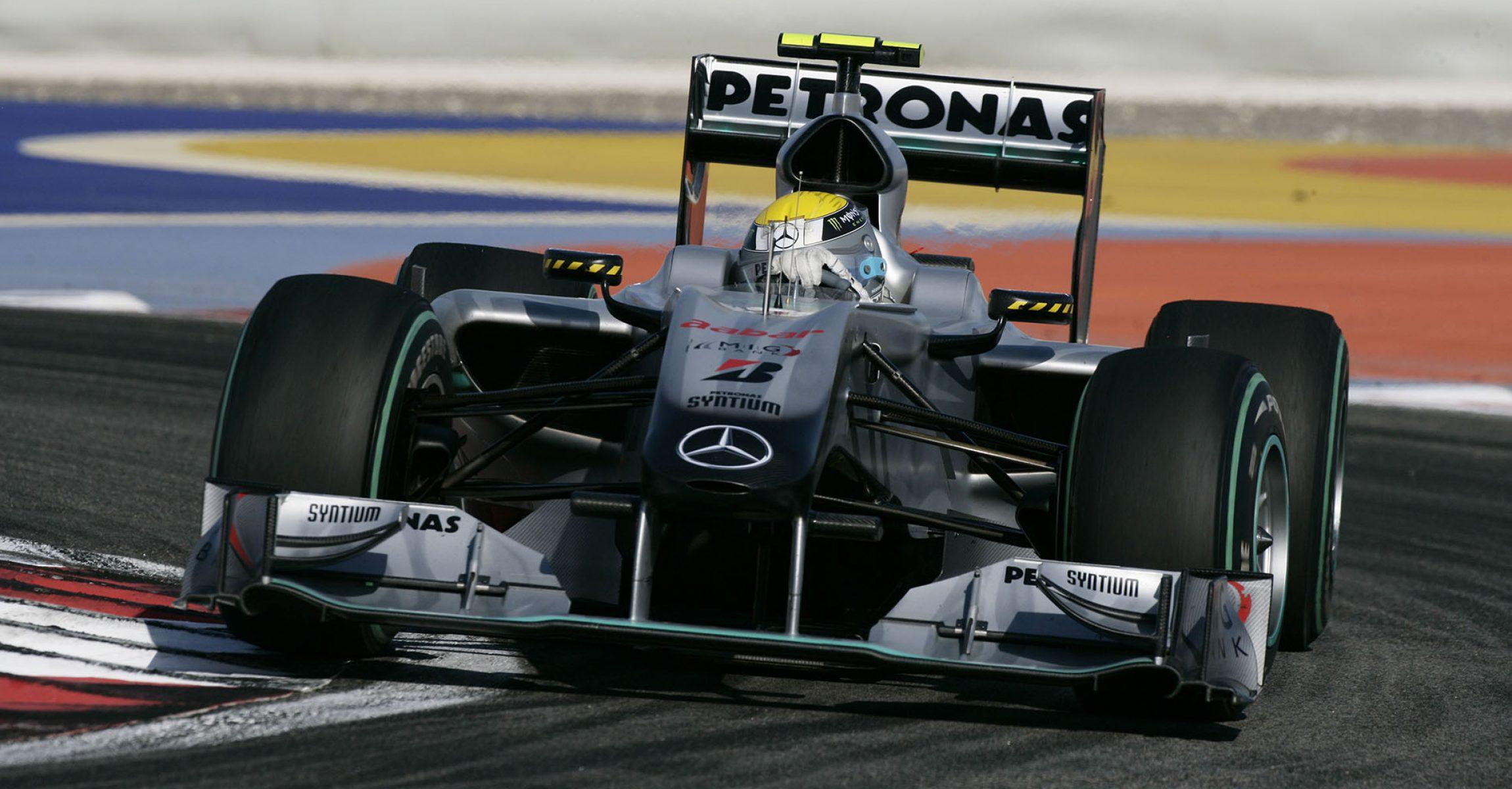 2010 Bahrain Grand Prix, Sunday Nico Rosberg, Mercedes
