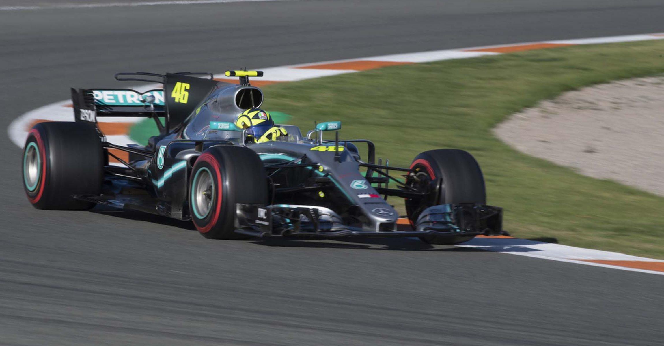 Valentino Rossi, Mercedes