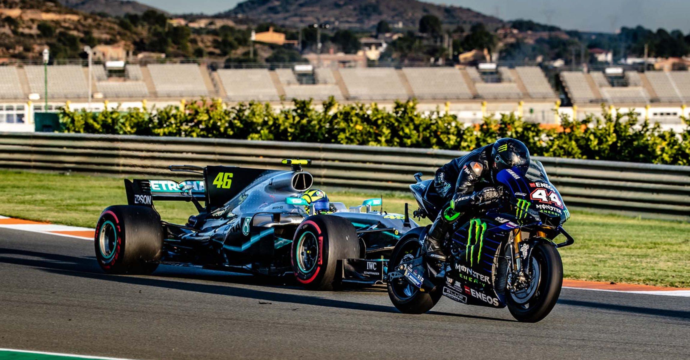 Valentino Rossi, Lewis Hamilton, Mercedes, Yamaha