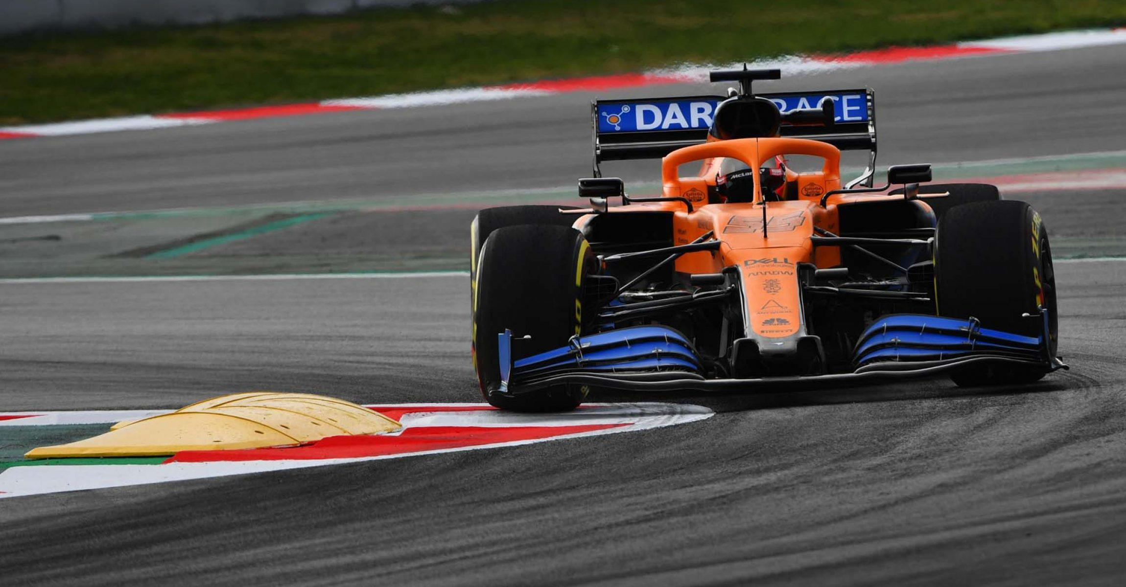 Carlos Sainz McLaren MCL35