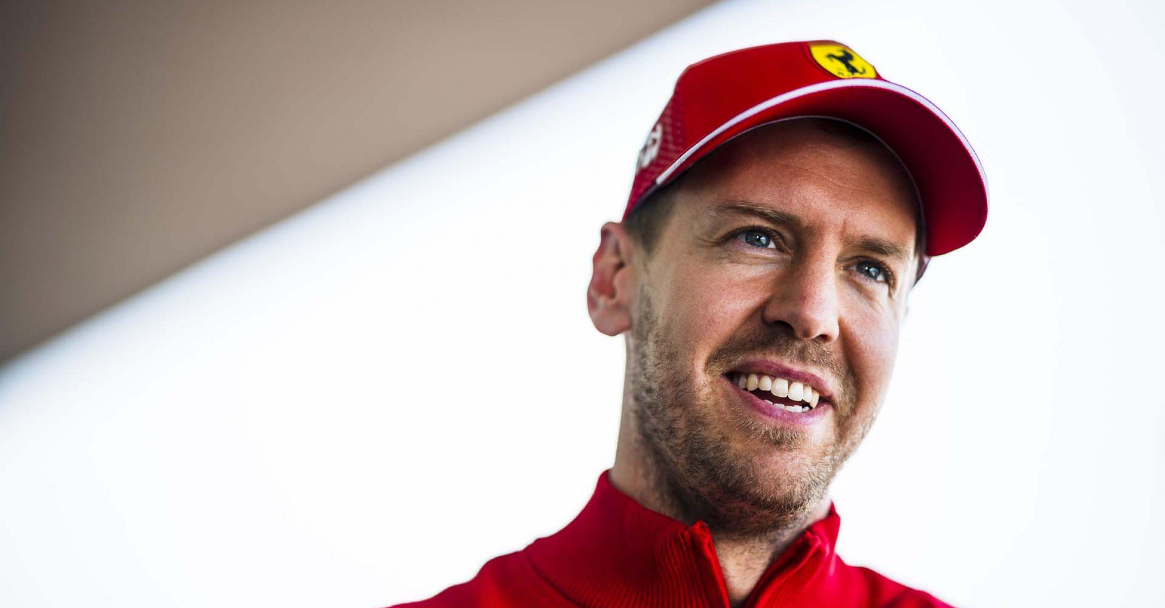 Sebastian Vettel, Ferrari, Mexico