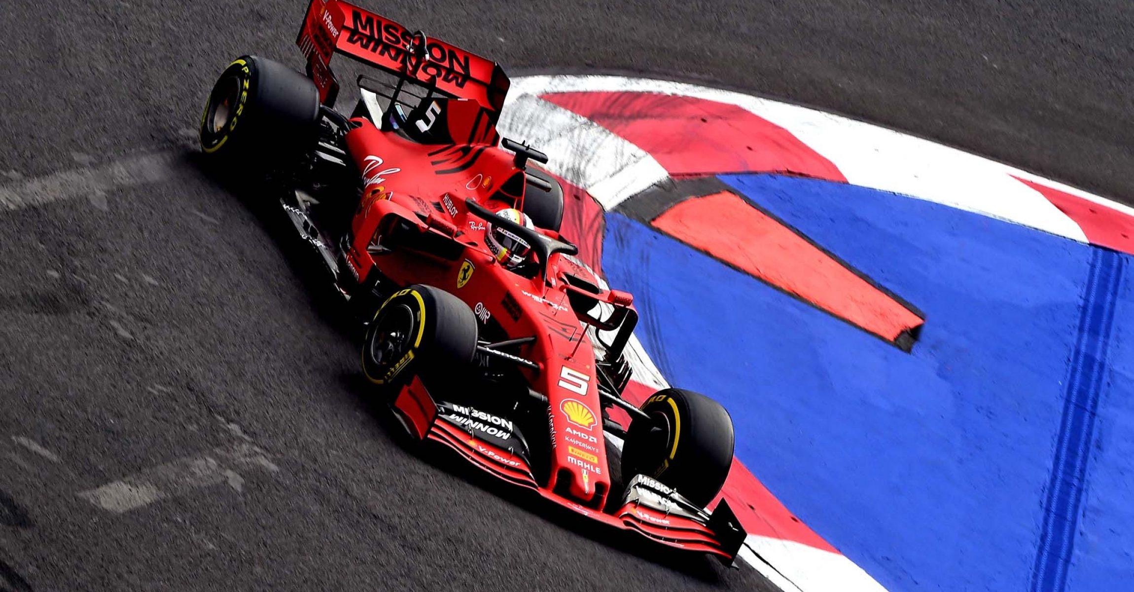 GP MESSICO  F1/2019 -  VENERDÌ  25/10/2019    credit: @Scuderia Ferrari Press Office Sebastian Vettel