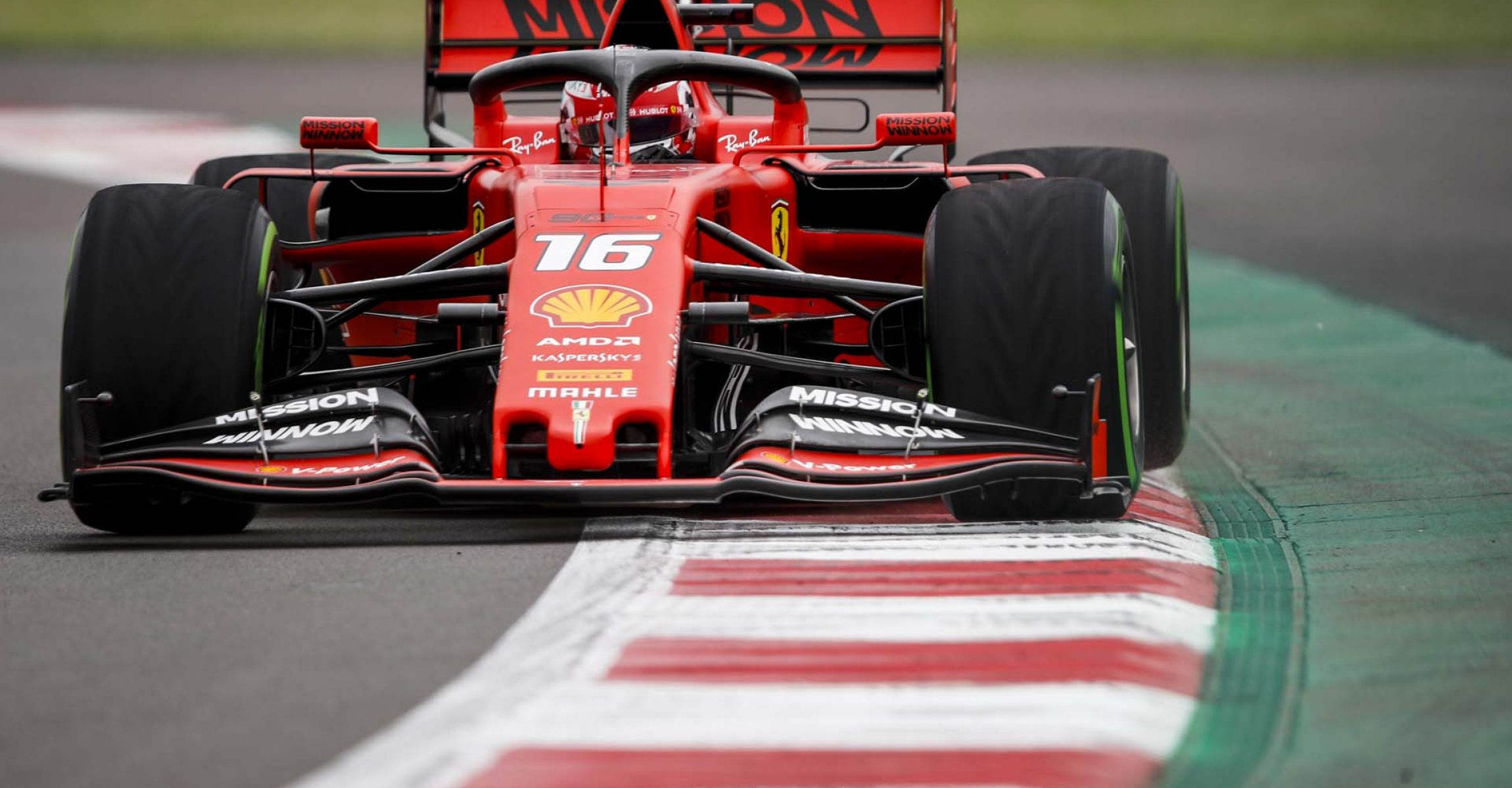 MEXICO CITY - OCTOBER 25: Charles Leclerc, Ferrari SF90 during the 2019 Formula One Mexican Grand Prix at Autodromo Hermanos Rodriguez, on October 25, 2019 in Mexico City, Mexico. (Photo by Joe Portlock / LAT Images)