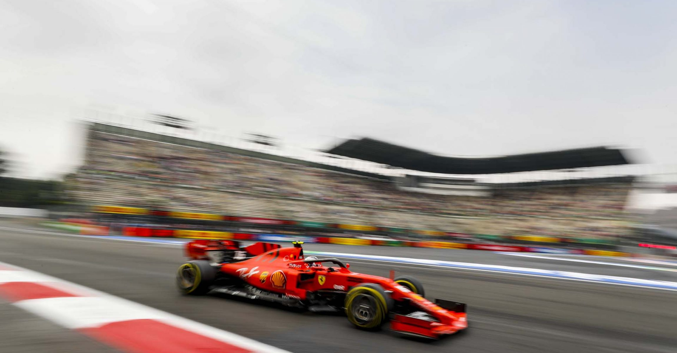 MEXICO CITY - OCTOBER 25: Charles Leclerc, Ferrari SF90 during the 2019 Formula One Mexican Grand Prix at Autodromo Hermanos Rodriguez, on October 25, 2019 in Mexico City, Mexico. (Photo by Steven Tee / LAT Images)