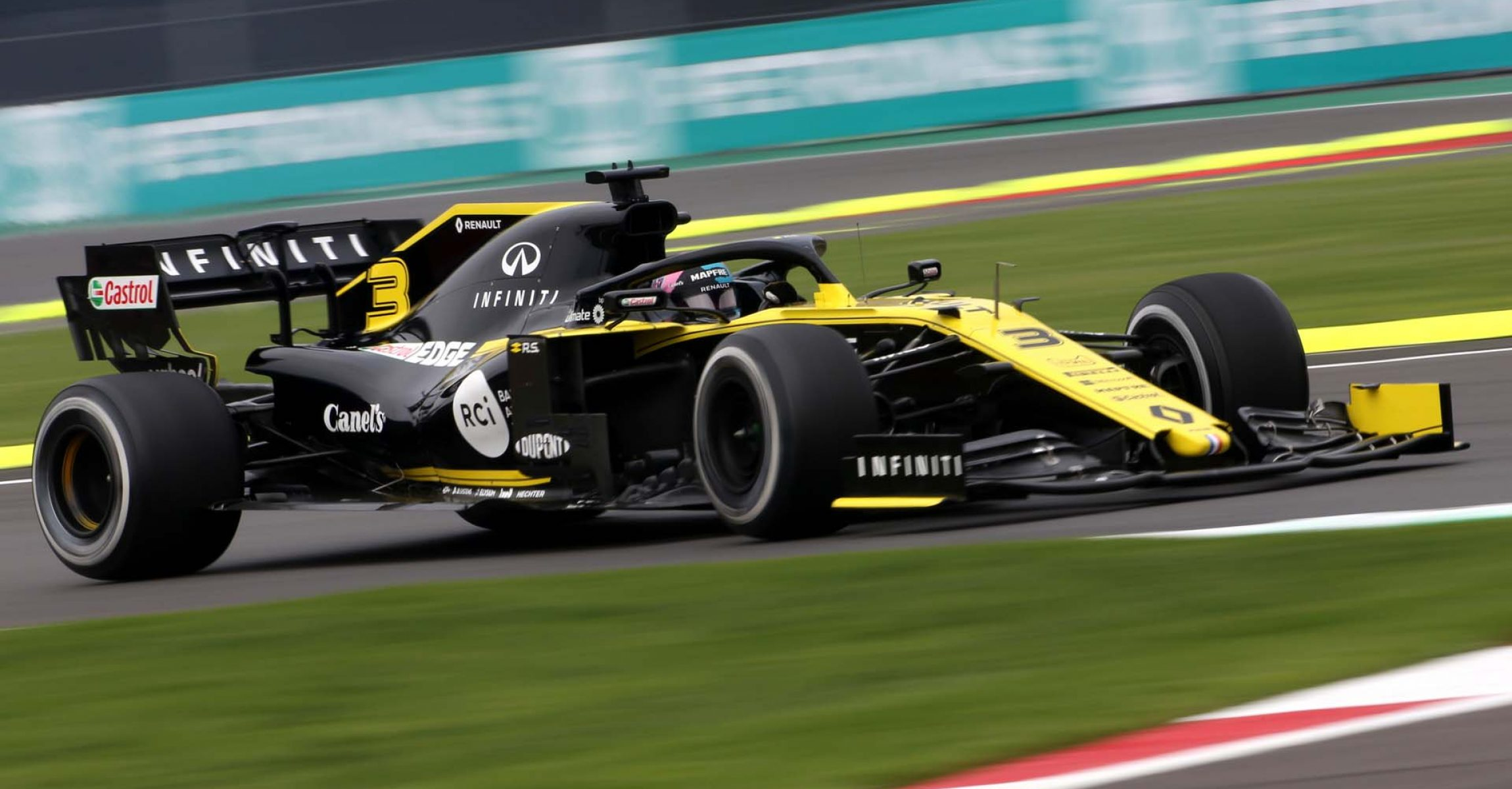 Daniel Ricciardo (AUS) Renault F1 Team RS19. Mexican Grand Prix, Friday 25th October 2019. Mexico City, Mexico.