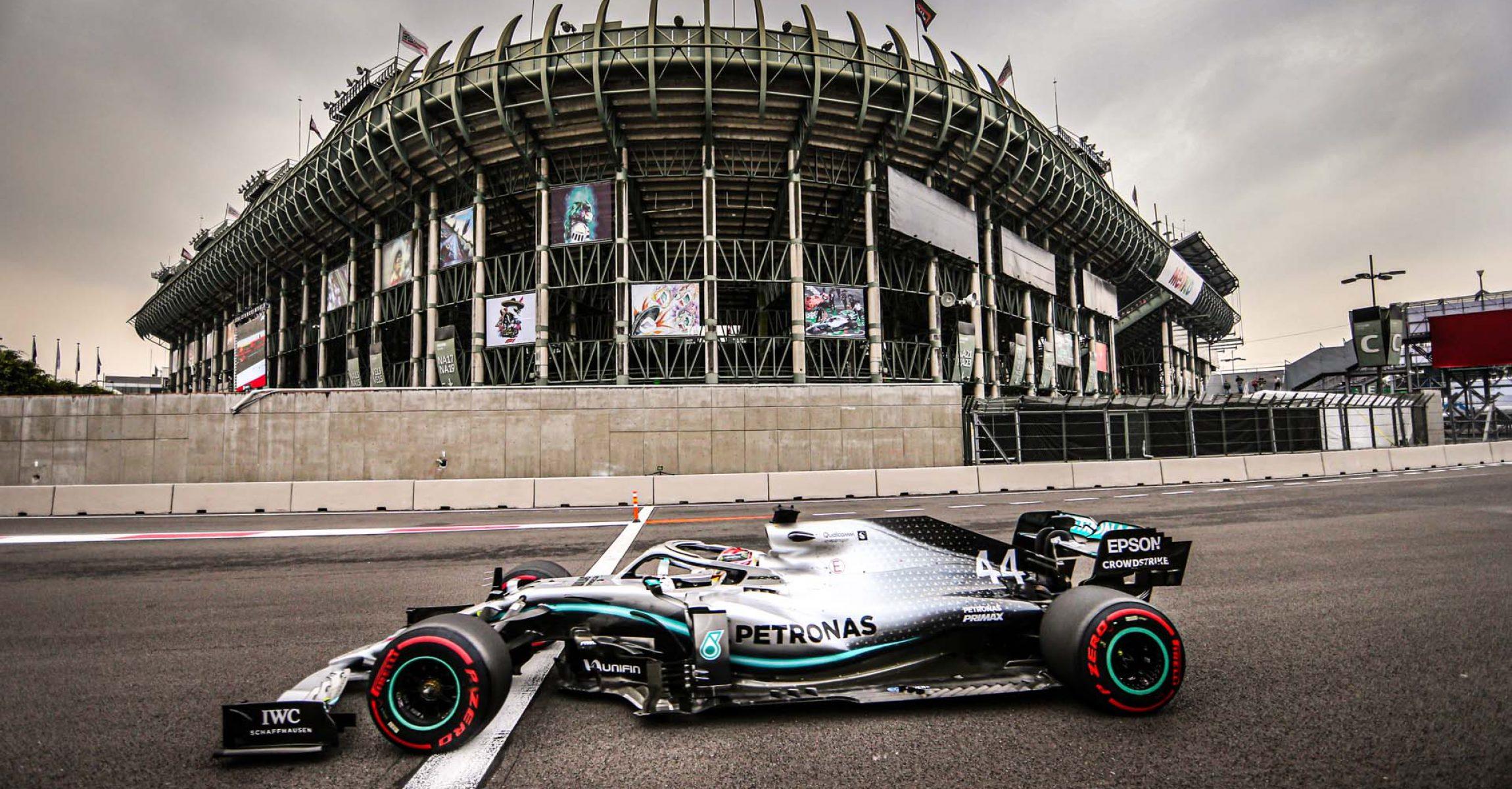 2019 Mexican Grand Prix, Saturday - Wolfgang Wilhelm Lewis Hamilton Mercedes