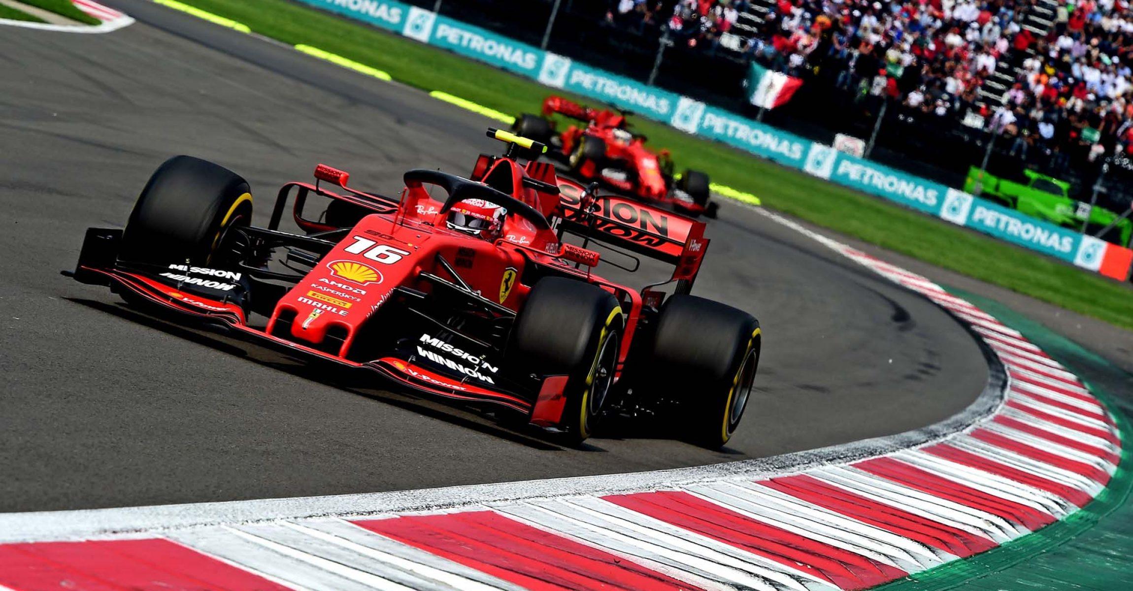 GP MESSICO F1/2019 - DOMENICA 27/10/2019 credit: @Scuderia Ferrari Press Office Charles Leclerc