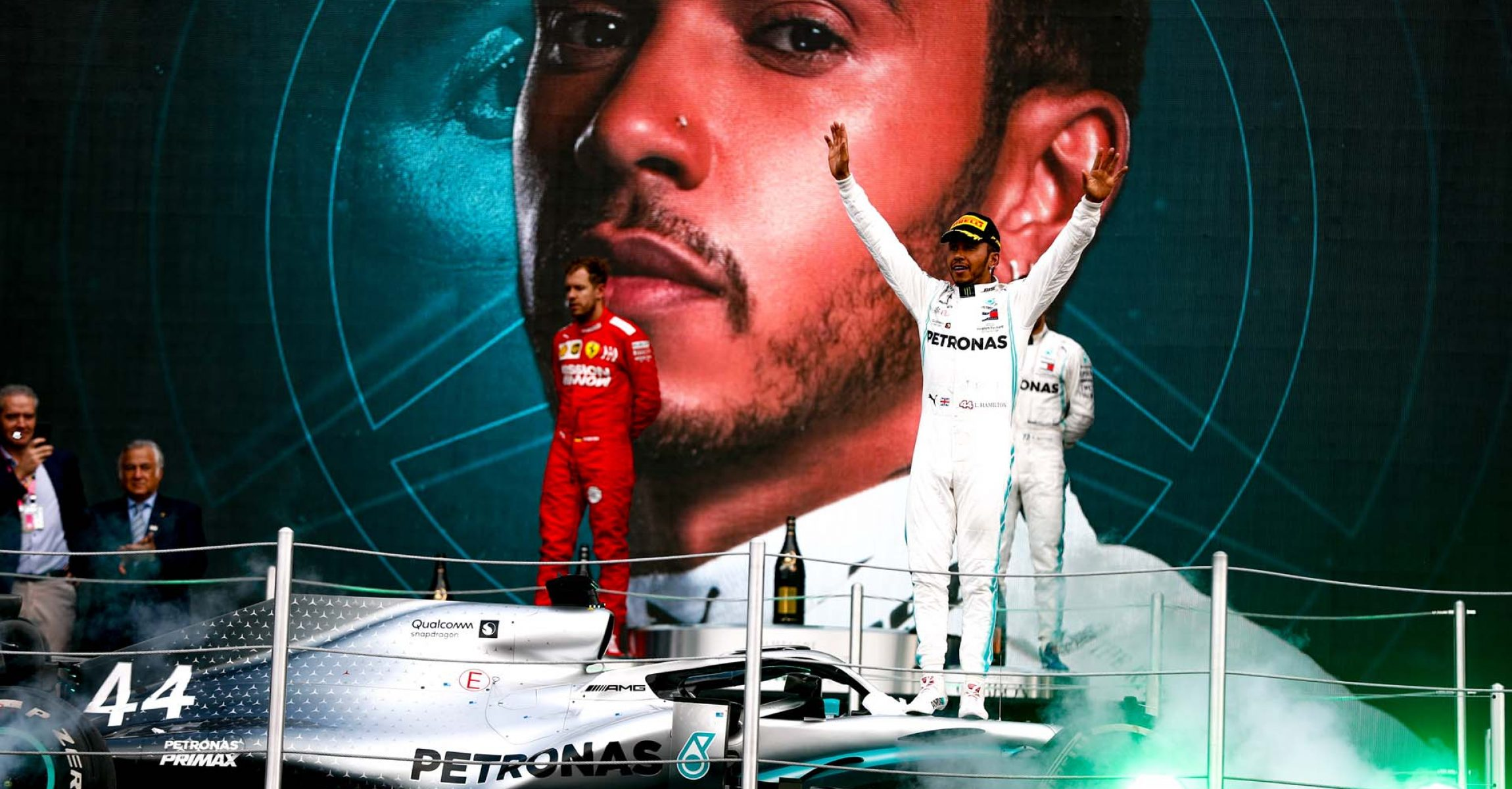 2019 Mexican Grand Prix, Sunday - LAT Images Lewis Hamilton Mercedes