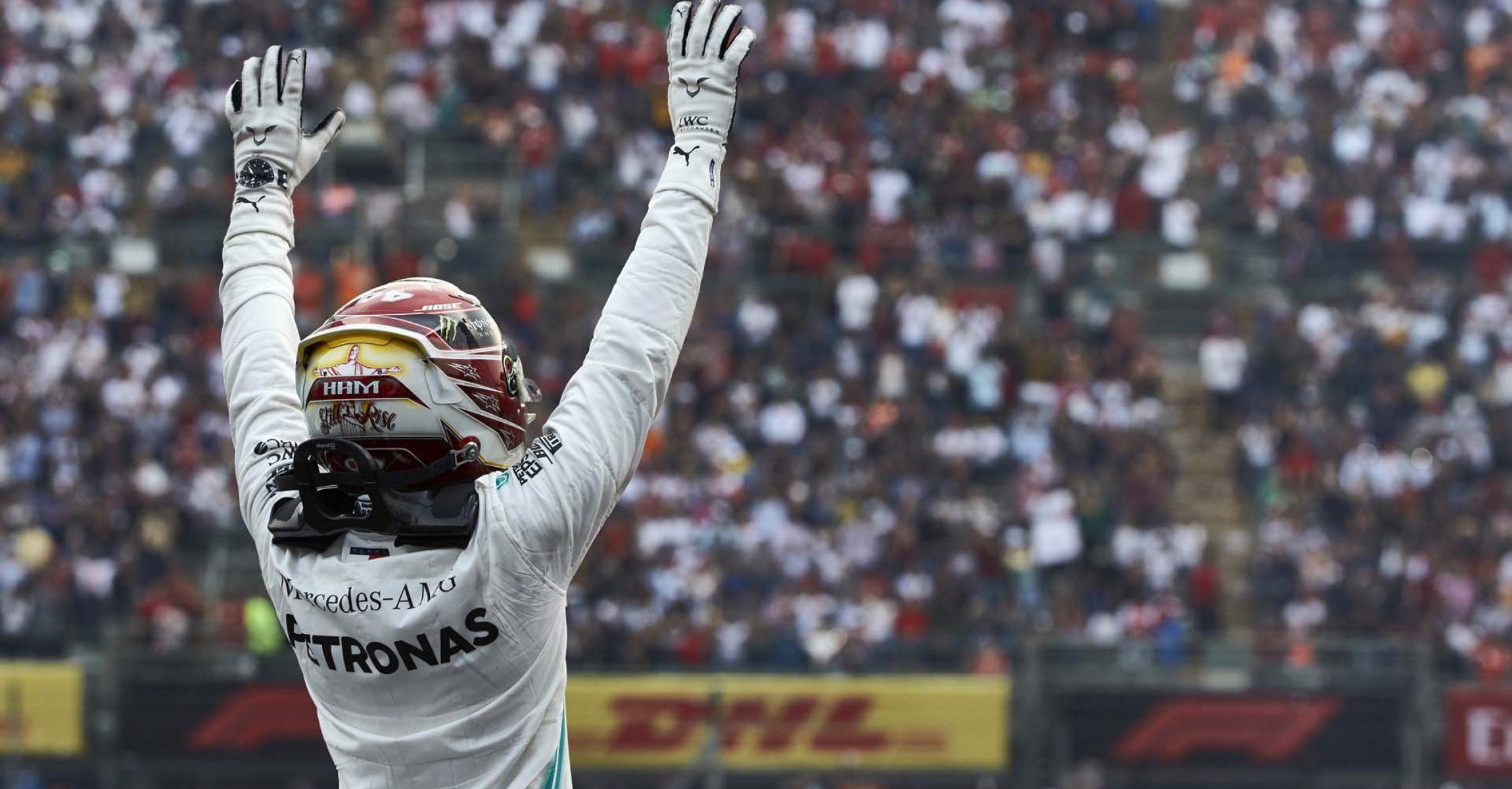 2019 Mexican Grand Prix, Sunday - Steve Etherington Lewis Hamilton Mercedes