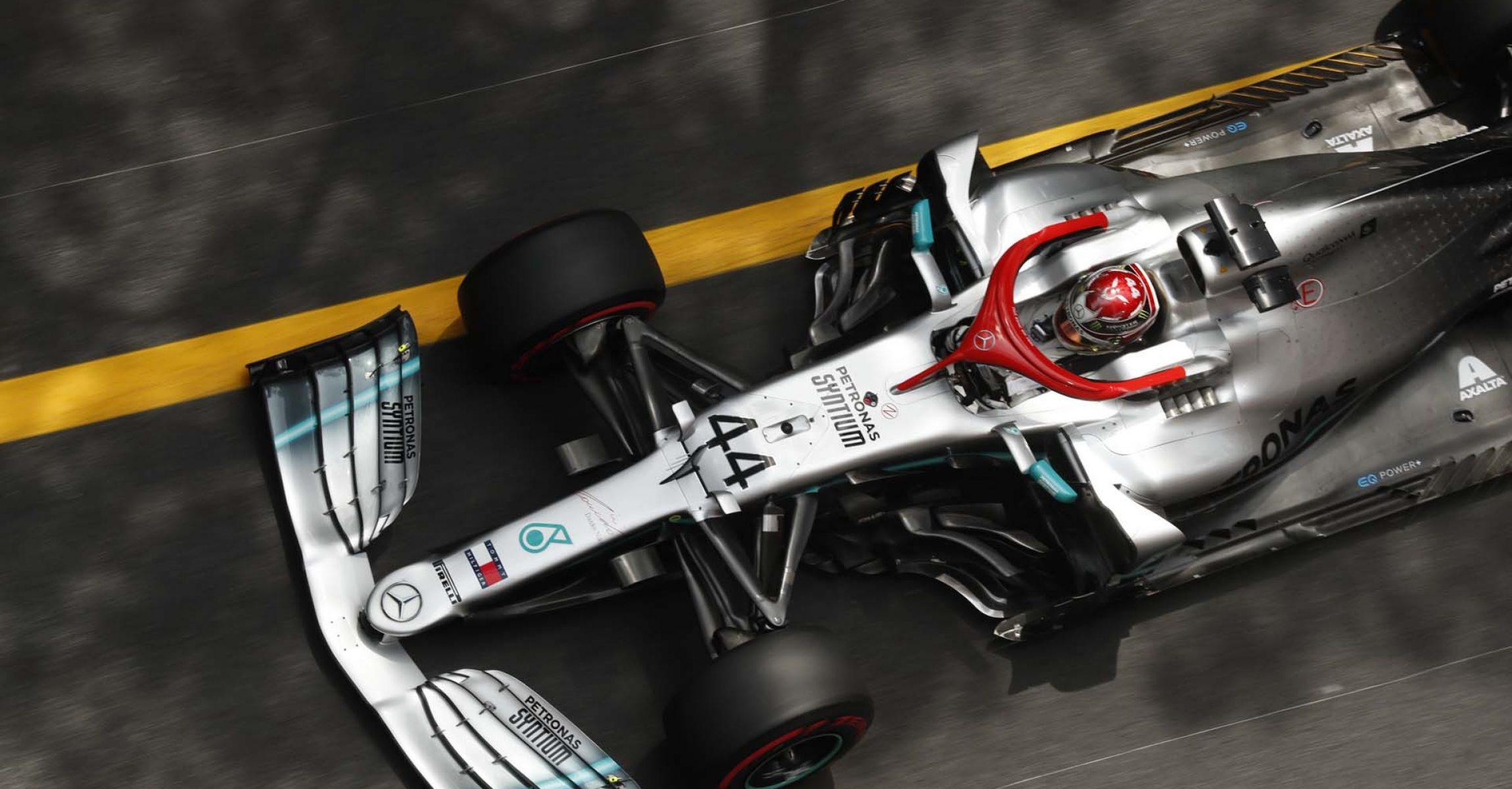2019 Monaco Grand Prix, Saturday - Wolfgang Wilhelm Lewis Hamilton Mercedes