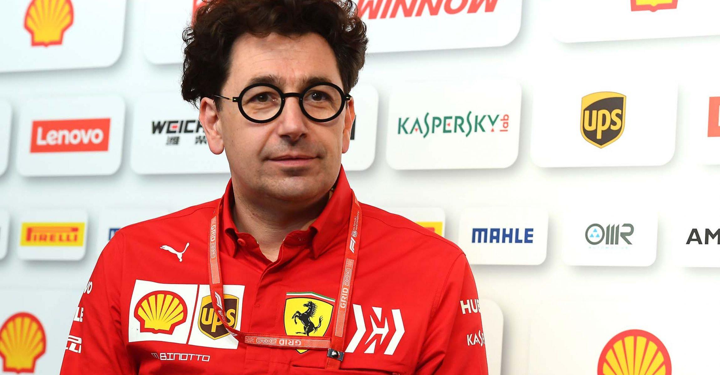 GP MONACO  F1/2019 - SABATO 25/05/2019  credit: @Scuderia Ferrari Press Office Mattia Binotto Ferrari