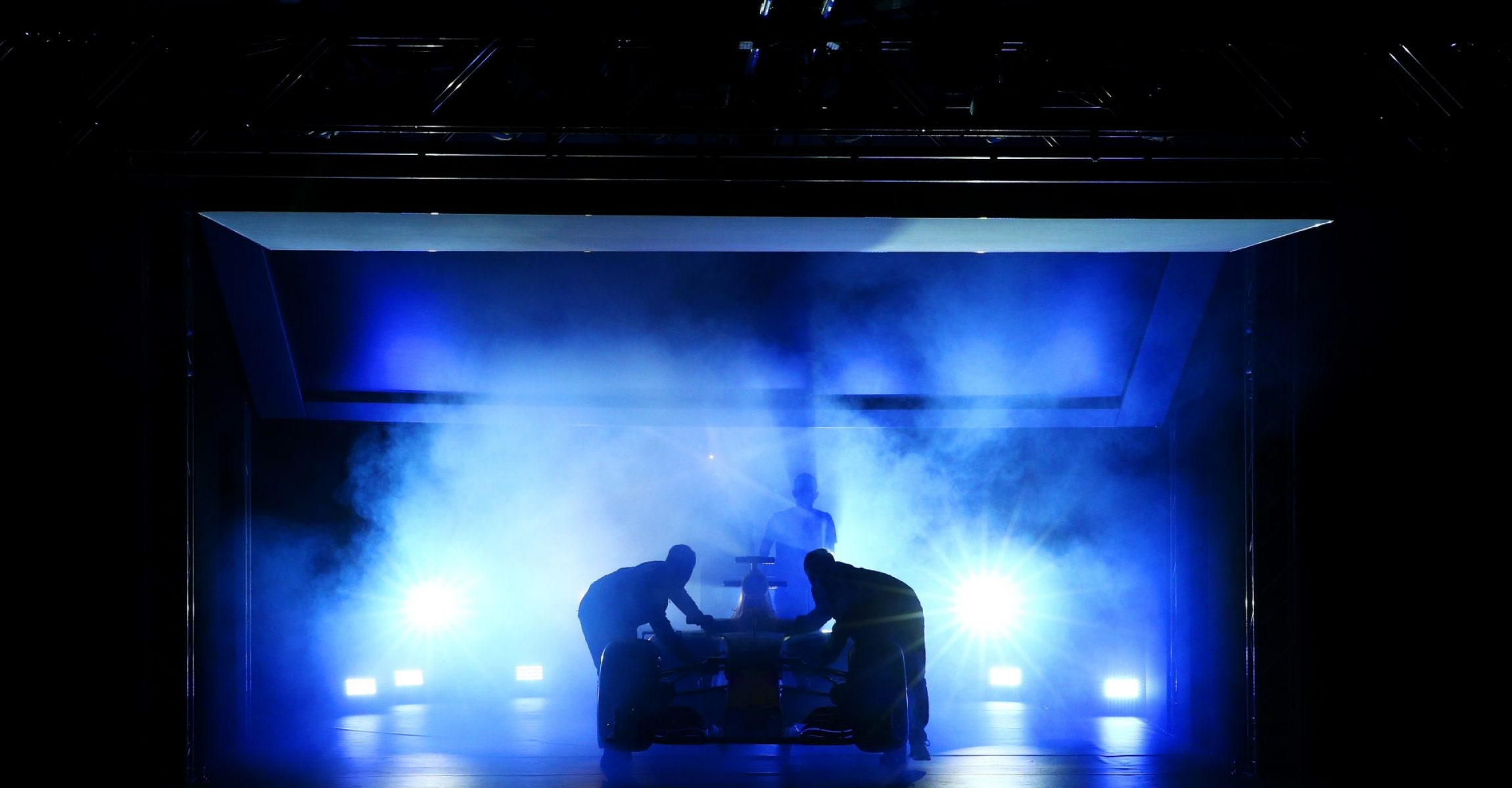 LONDON, ENGLAND - FEBRUARY 17:  The RB11 featuring the 2016 livery is unveiled during the launch event for PUMA and Red Bull Racing's 2016 Livery and Teamwear at Old Truman Brewery on February 17, 2016 in London, England.  (Photo by Clive Mason/Getty Images), launch, presentation,