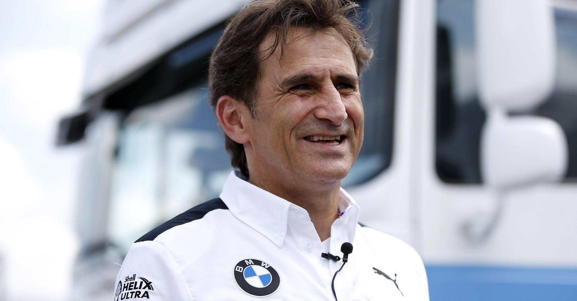 Hungaroring (HUN) 1st June 2018. BMW M Motorsport, DTM, Round 3, Alessandro Zanardi (ITA), BMW works driver and BMW brand ambassador