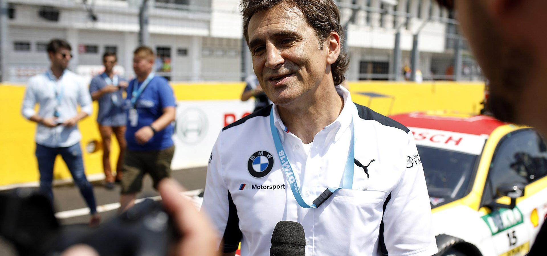 Hungaroring (HUN) 2nd June 2018. BMW M Motorsport, DTM, Round 3, Alessandro Zanardi (ITA), BMW works driver and BMW brand ambassador