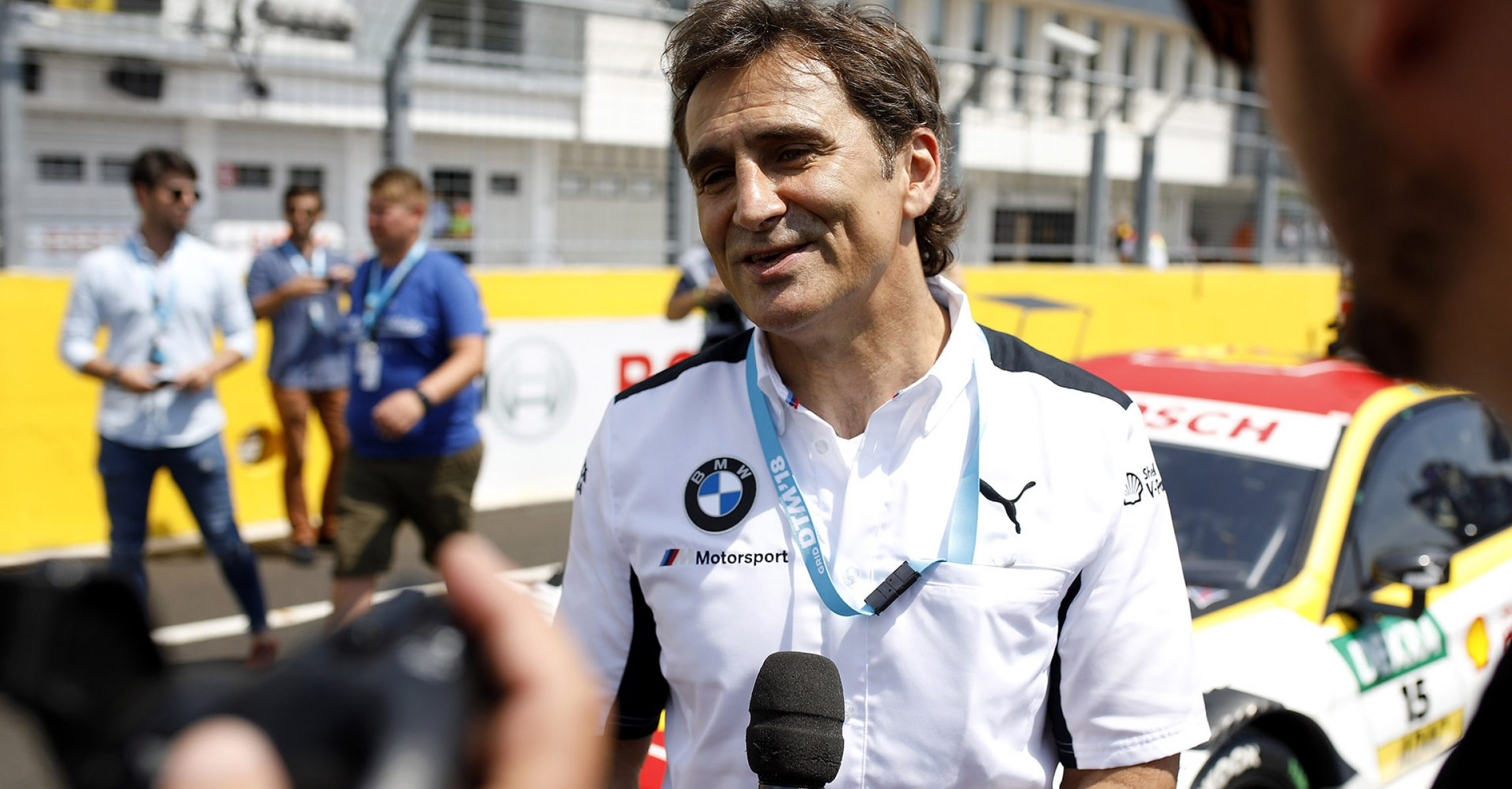 Hungaroring (HUN) 2nd June 2018. BMW M Motorsport, DTM, Round 3, Alessandro Zanardi (ITA), BMW works driver and BMW brand ambassador
