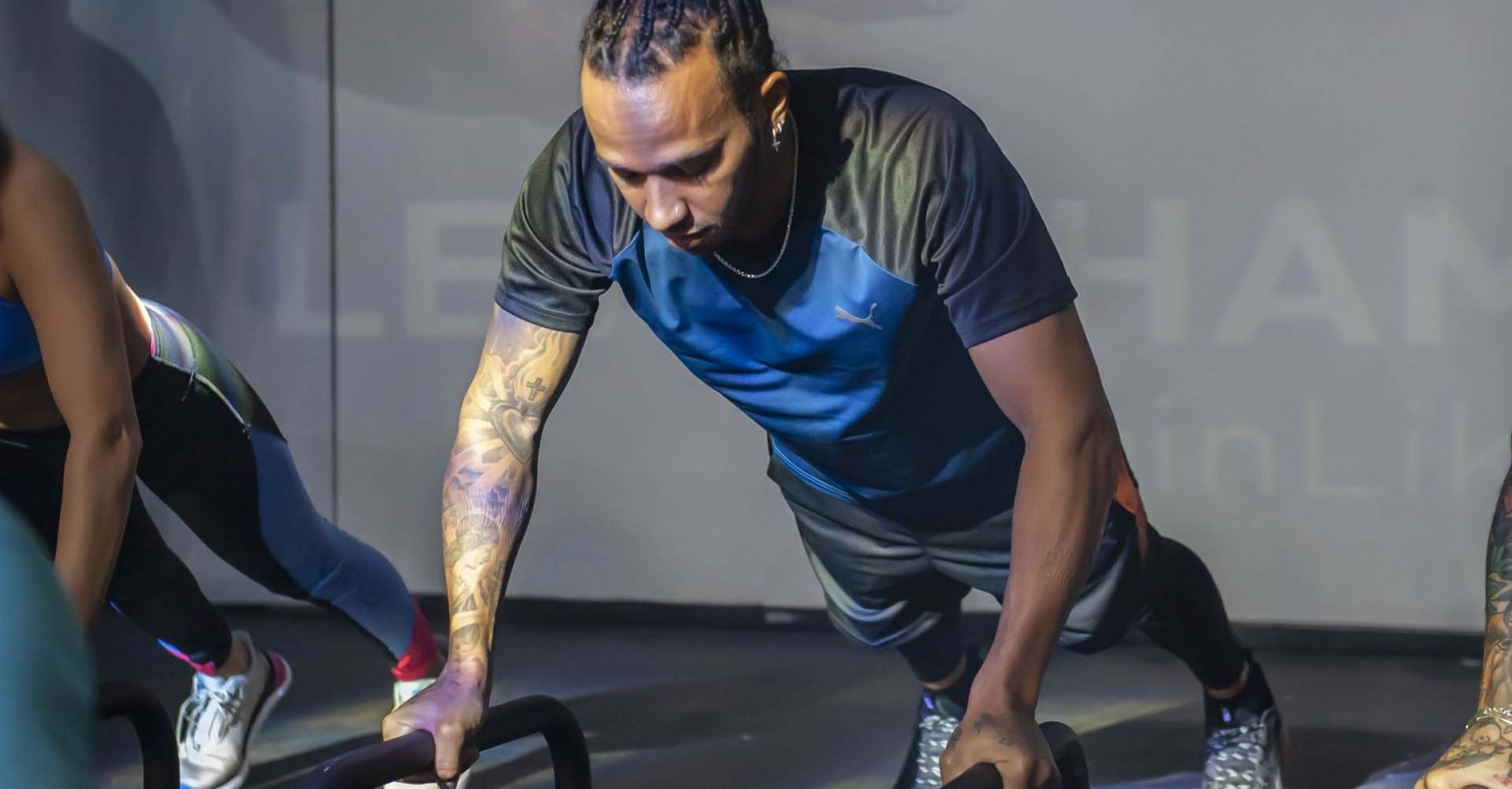 Lewis Hamilton training, PUMA