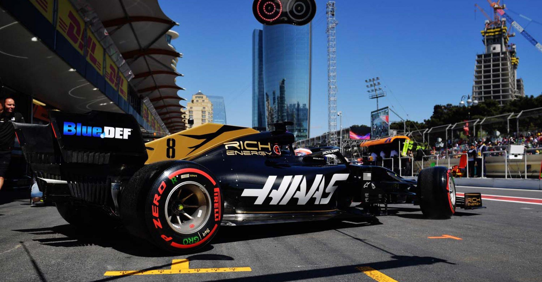 Romain Grosjean, Baku,