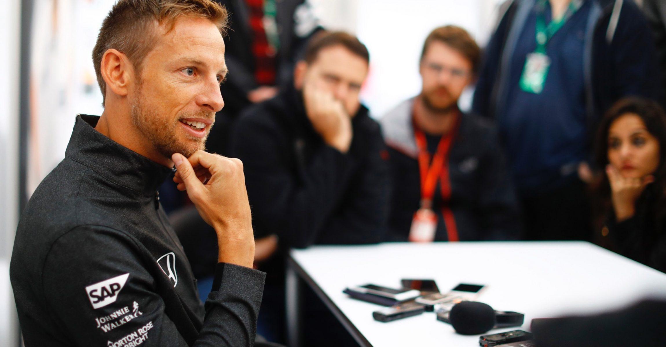 Suzuka Circuit, Japan. Friday 6 October 2017. Jenson Button, McLaren. Photo: Steven Tee/McLaren ref: Digital Image _O3I6396 JapaneseGP2017