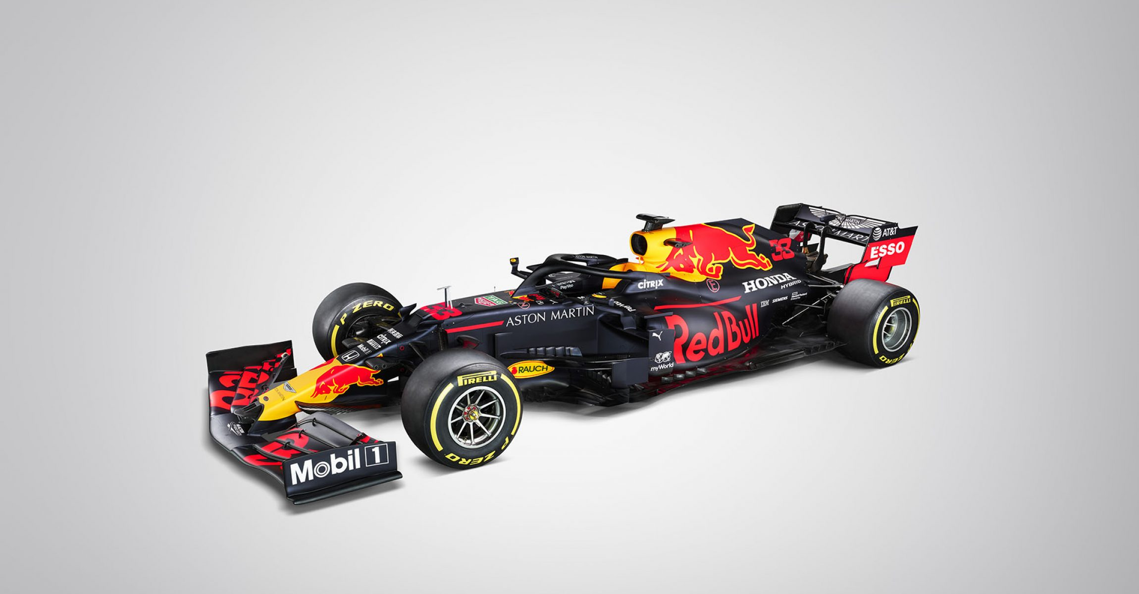 Max Verstappen's #33 Aston Martin Red Bull Racing RB15 seen during a Studio Shoot in United Kingdom on February 16, 2019. // Thomas Butler / Red Bull Content Pool // AP-1YJQP4K5H2111 // Usage for editorial use only //