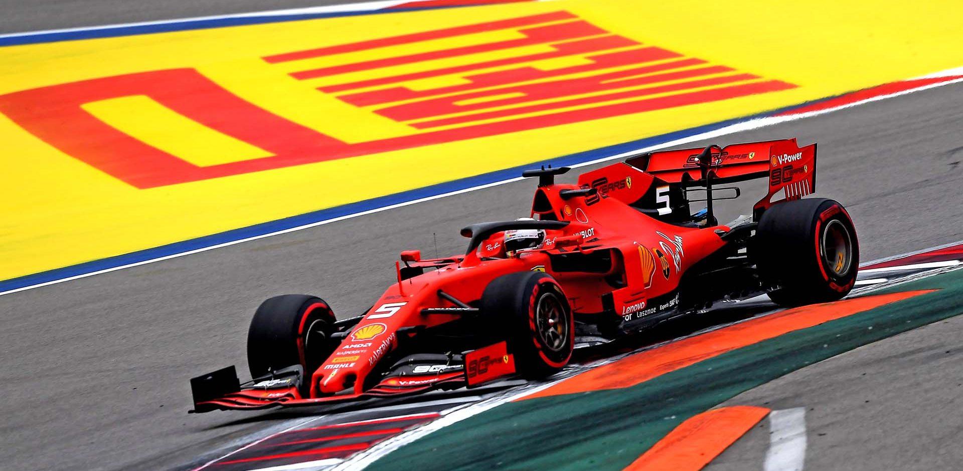 GP RUSSIA F1/2019 -  VENERDÌ 27/09/2019   credit: @Scuderia Ferrari Press Office Sebastian Vettel