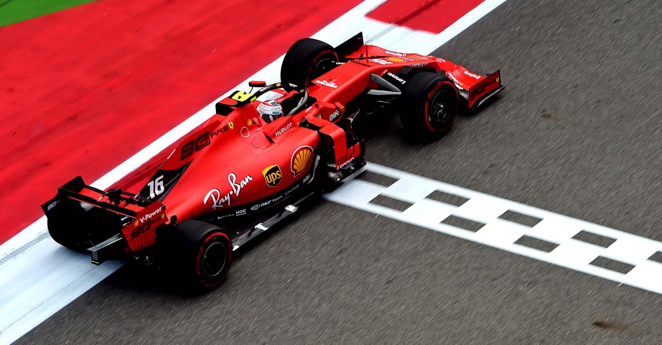 GP RUSSIA F1/2019 -  VENERDÌ 27/09/2019 credit: @Scuderia Ferrari Press Office Charles Leclerc
