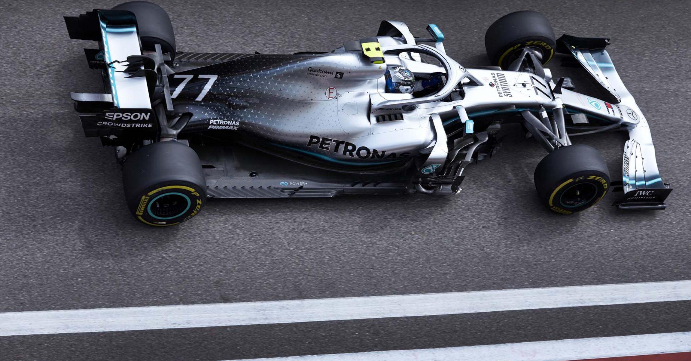 2019 Russian Grand Prix, Friday - Steve Etherington Valtteri Bottas Mercedes