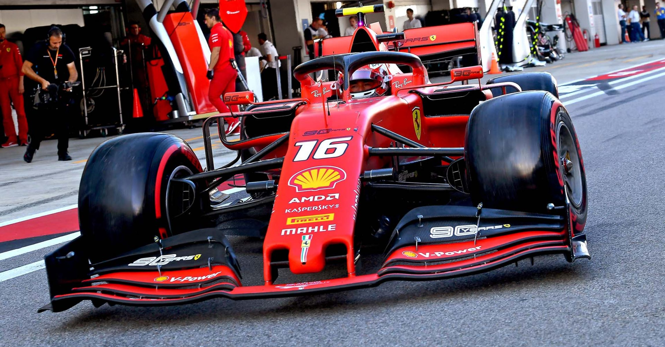 GP RUSSIA F1/2019 -  SABATO  28/09/2019   credit: @Scuderia Ferrari Press Office Charles Leclerc