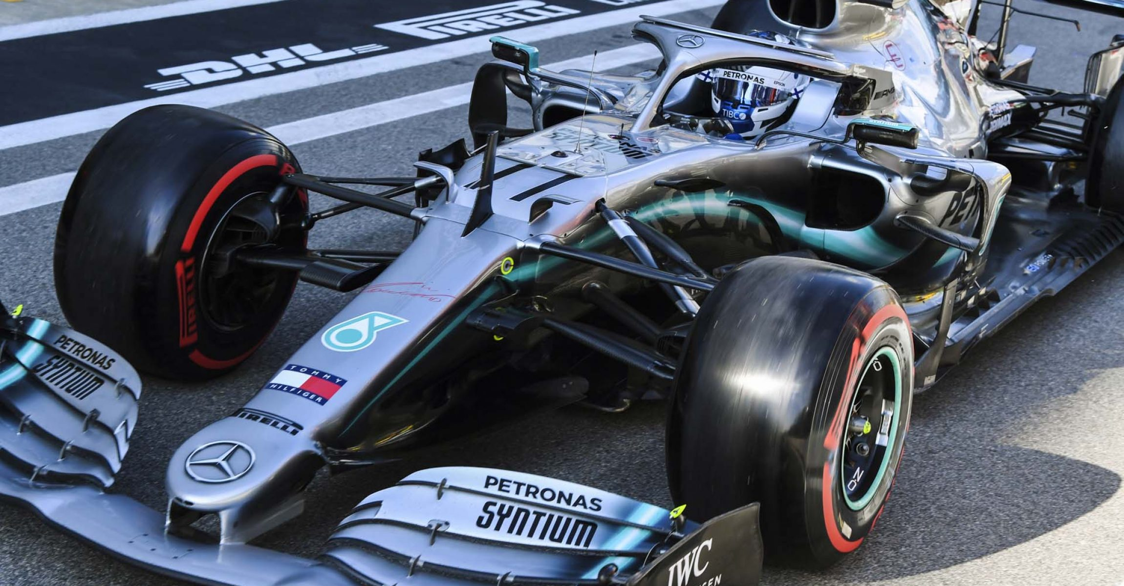 SOCHI AUTODROM, RUSSIAN FEDERATION - SEPTEMBER 28: Valtteri Bottas, Mercedes AMG W10 during the Russian GP at Sochi Autodrom on September 28, 2019 in Sochi Autodrom, Russian Federation. (Photo by Mark Sutton / LAT Images)