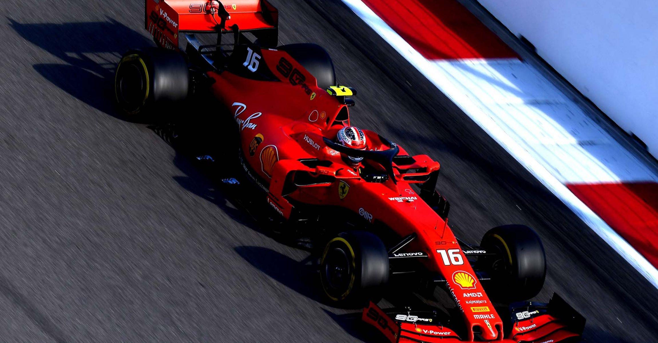 GP RUSSIA F1/2019 -  DOMENICA 29/09/2019   credit: @Scuderia Ferrari Press Office Charles Leclerc