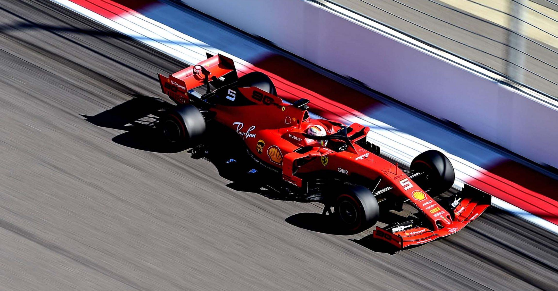 GP RUSSIA F1/2019 - DOMENICA 29/09/2019 credit: @Scuderia Ferrari Press Office Sebastian Vettel Ferrari