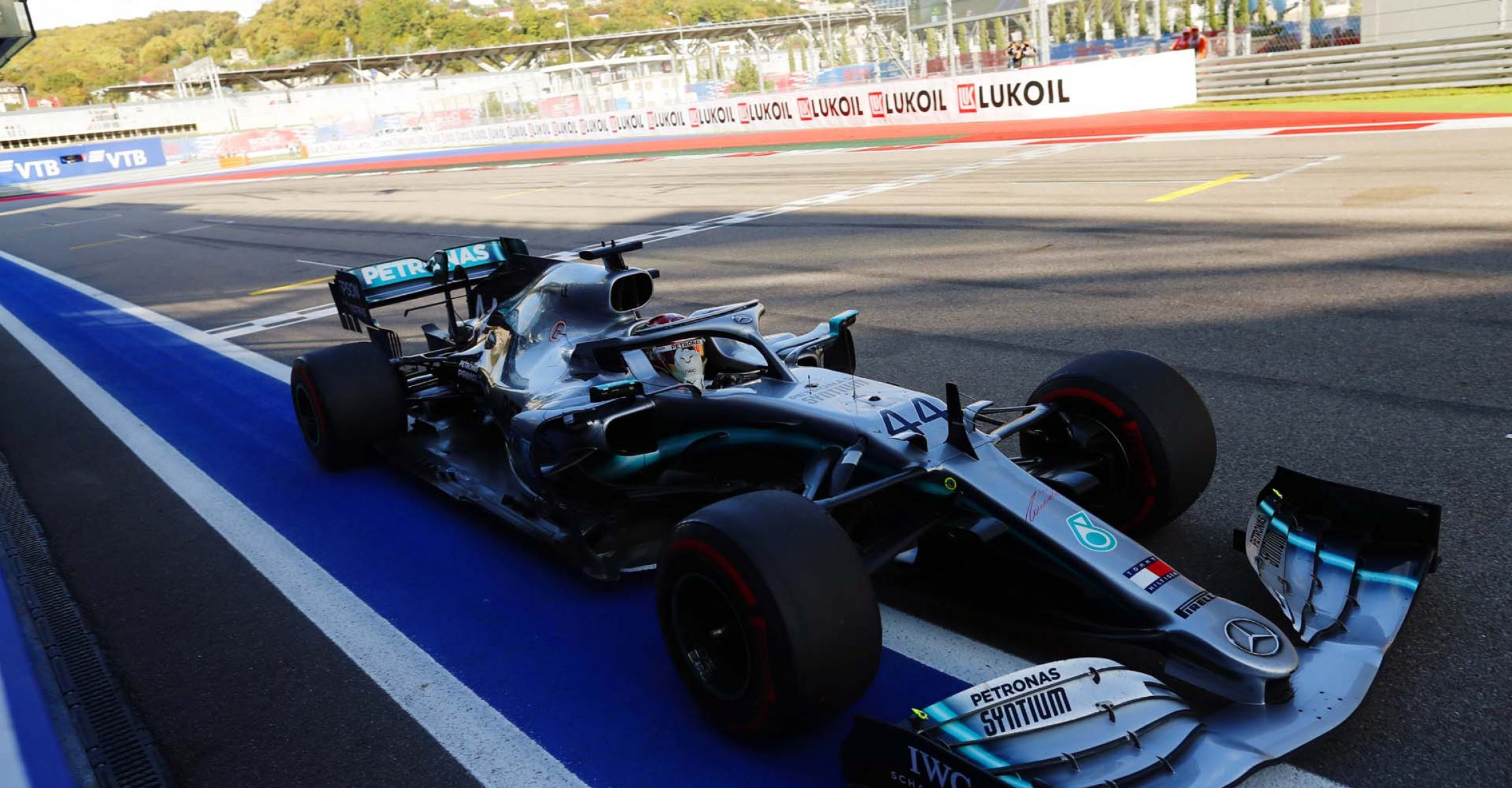 2019 Russian Grand Prix, Sunday - LAT Images Lewis Hamilton Mercedes