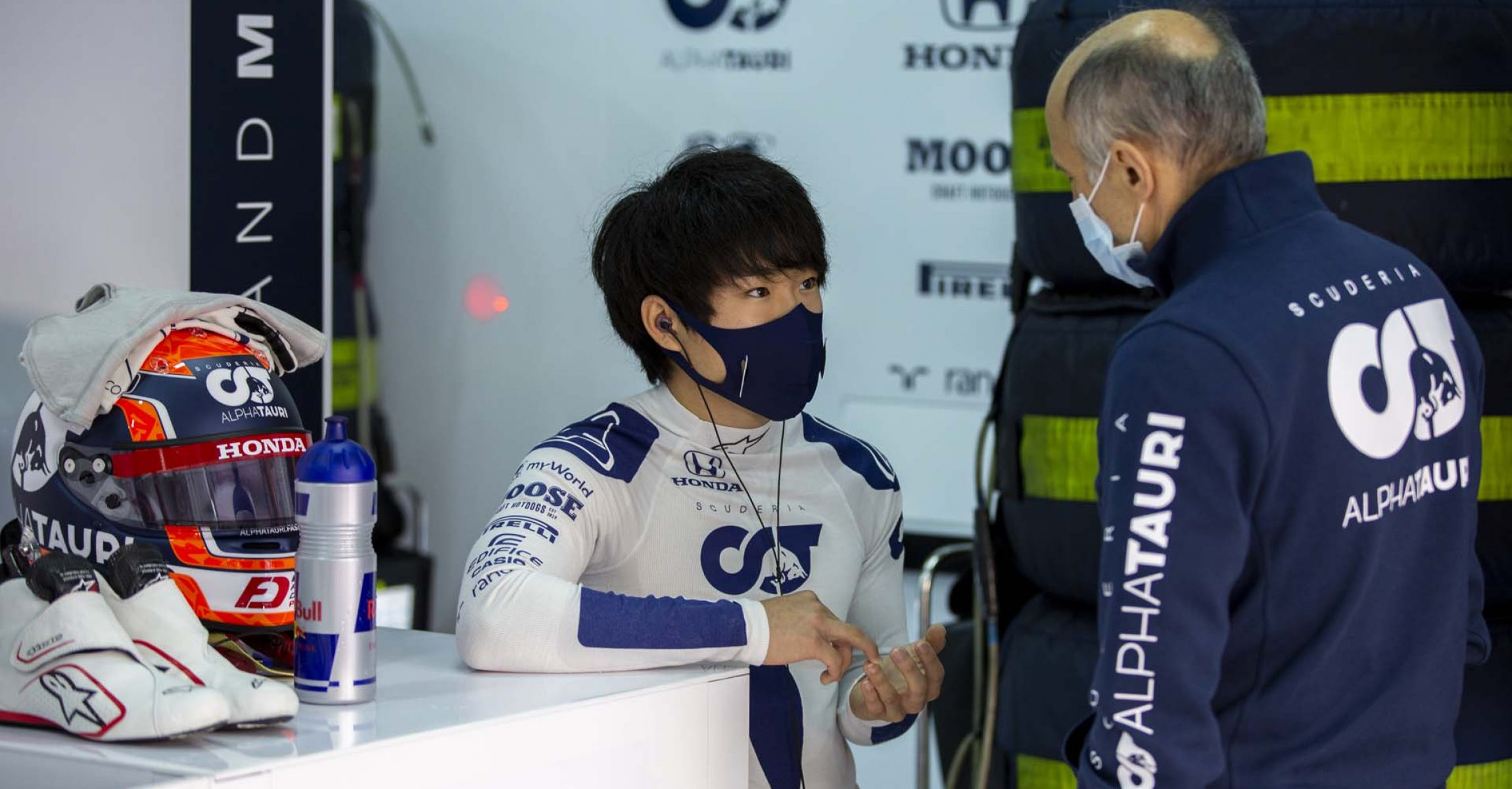IMOLA, ITALY - NOVEMBER 04: Yuki Tsunoda of Japan completes his first F1 test at Autodromo Enzo e Dino Ferrari on November 04, 2020 in Imola, Italy. (Photo by Josh Kruse/Scuderia AlphaTauri) // Josh Kruse / Scuderia AlphaTauri / Red Bull Content Pool // SI202011040567 // Usage for editorial use only //