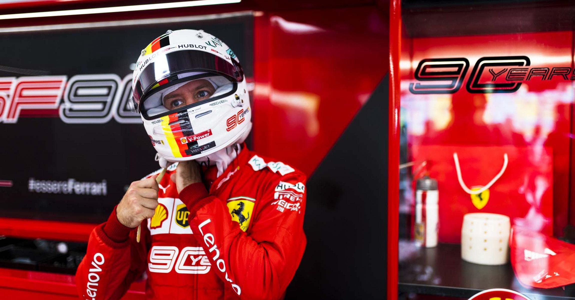 Sebastian Vettel, Ferrari, Singapore Grand Prix 2019