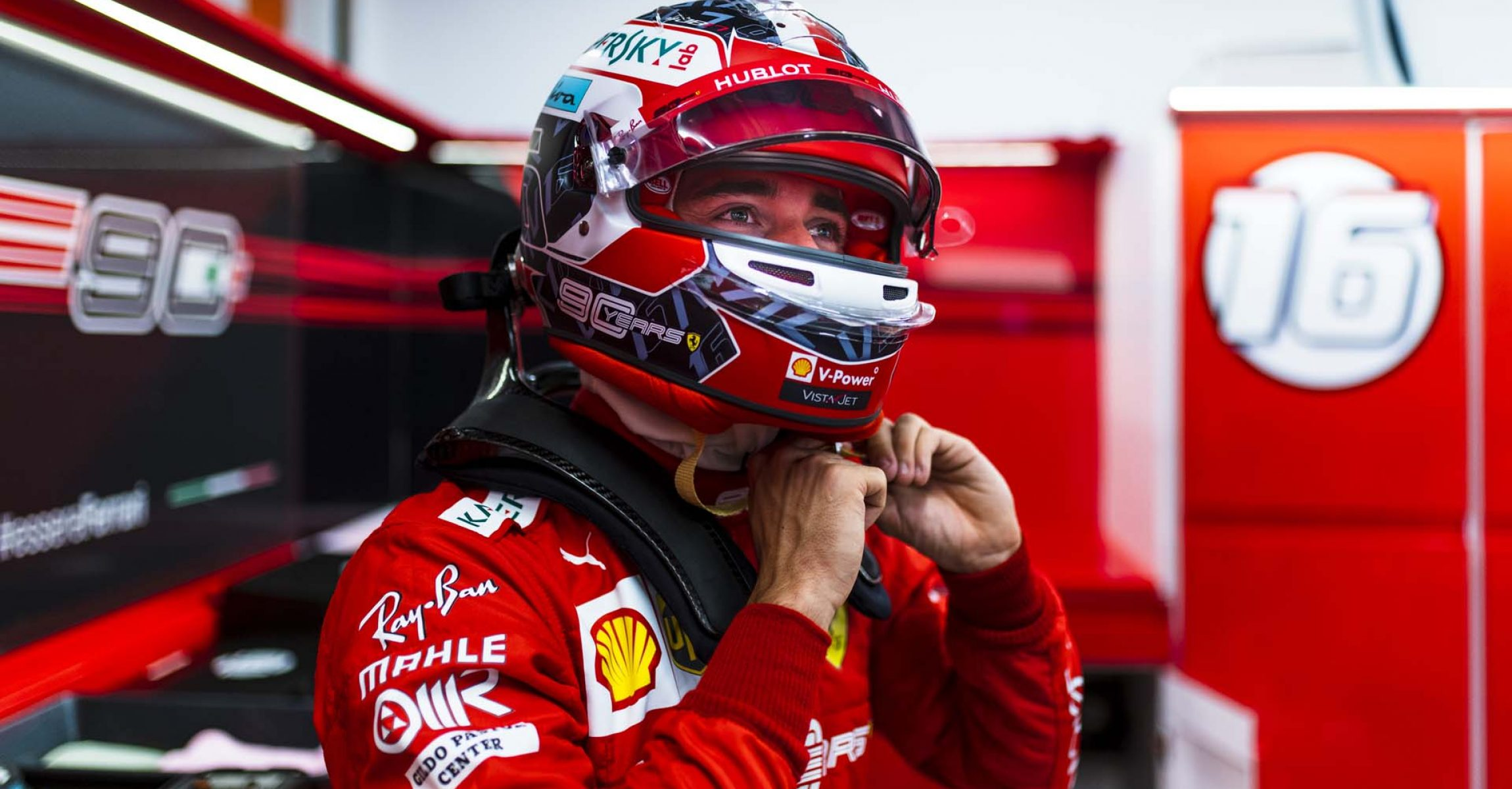 Charles Leclerc, Ferrari, Singapore Grand Prix 2019