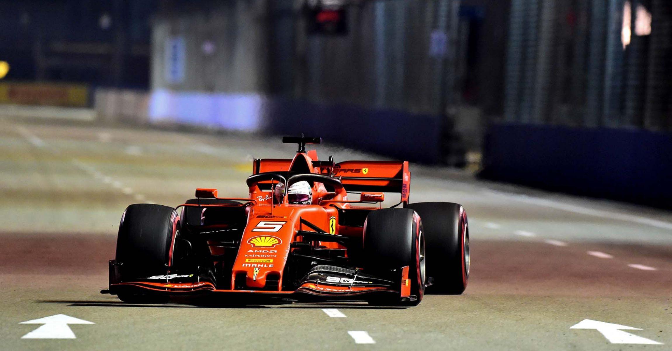 GP SINGAPORE F1/2019 -  VENERDI 20/09/2019   credit: @Scuderia Ferrari Press Office Sebastian Vettel