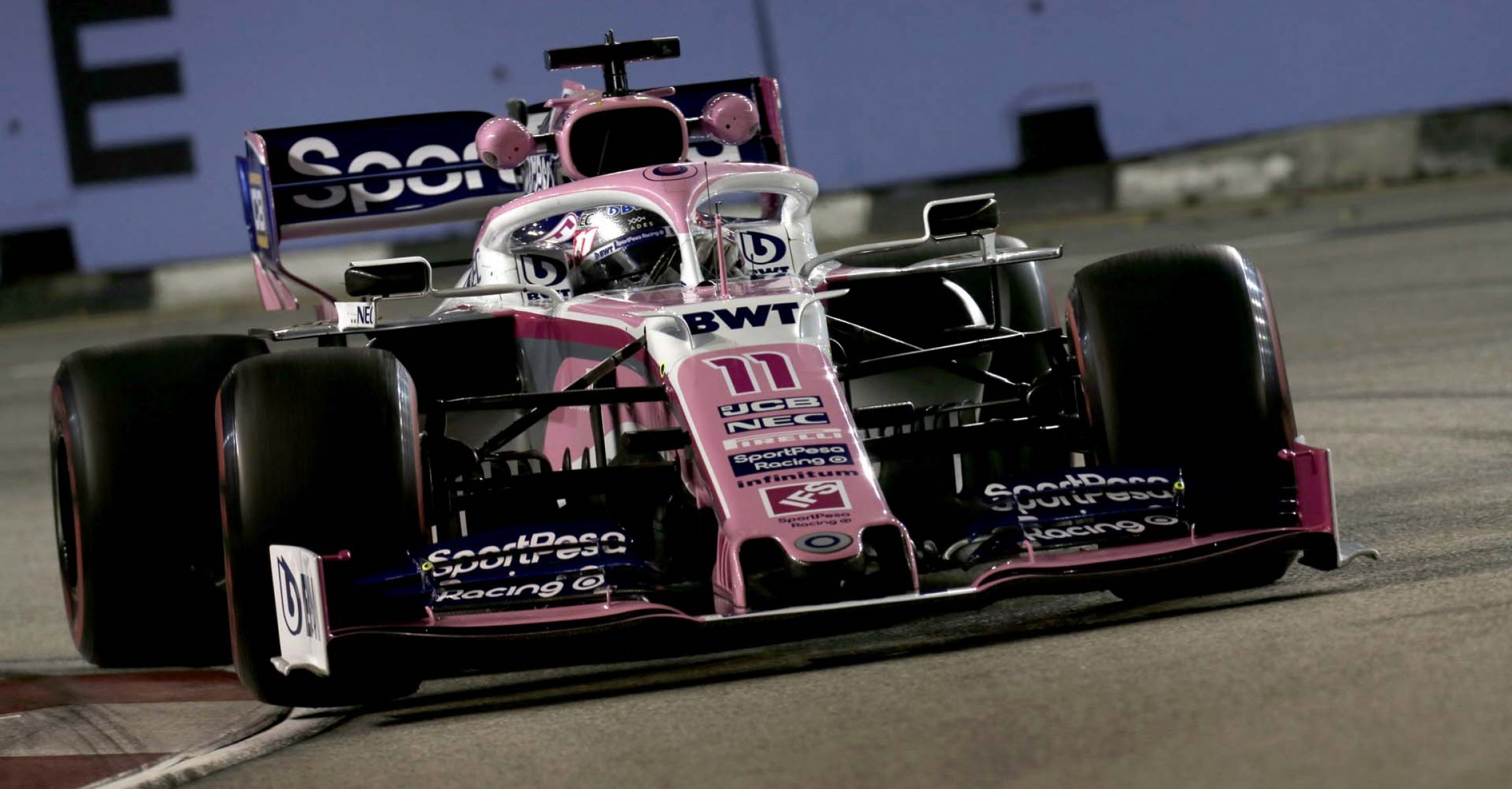 Sergio Perez, Racing Point RP19 during FP2
