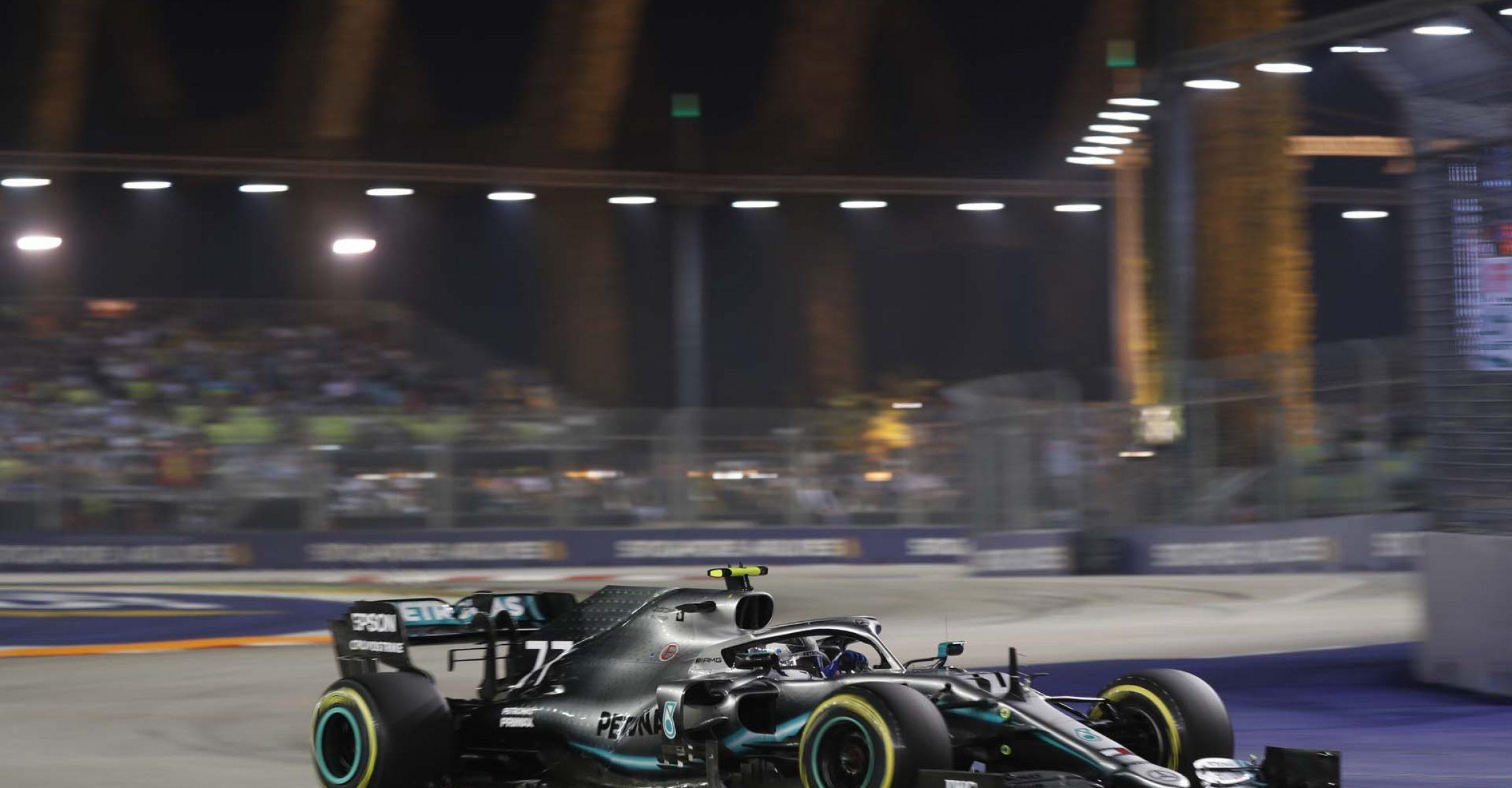 2019 Singapore Grand Prix, Saturday - Wolfgang Wilhelm Valtteri Bottas Mercedes