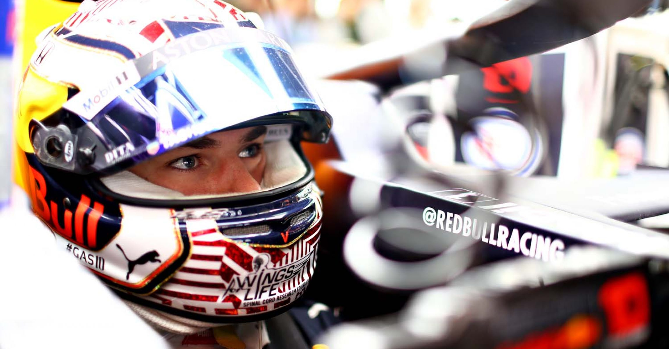 BARCELONA, SPAIN - MAY 10: Pierre Gasly of France and Red Bull Racing prepares to drive in the garage during practice for the F1 Grand Prix of Spain at Circuit de Barcelona-Catalunya on May 10, 2019 in Barcelona, Spain. (Photo by Mark Thompson/Getty Images) // Getty Images / Red Bull Content Pool  // AP-1Z9UE9M9W2111 // Usage for editorial use only // Please go to www.redbullcontentpool.com for further information. //