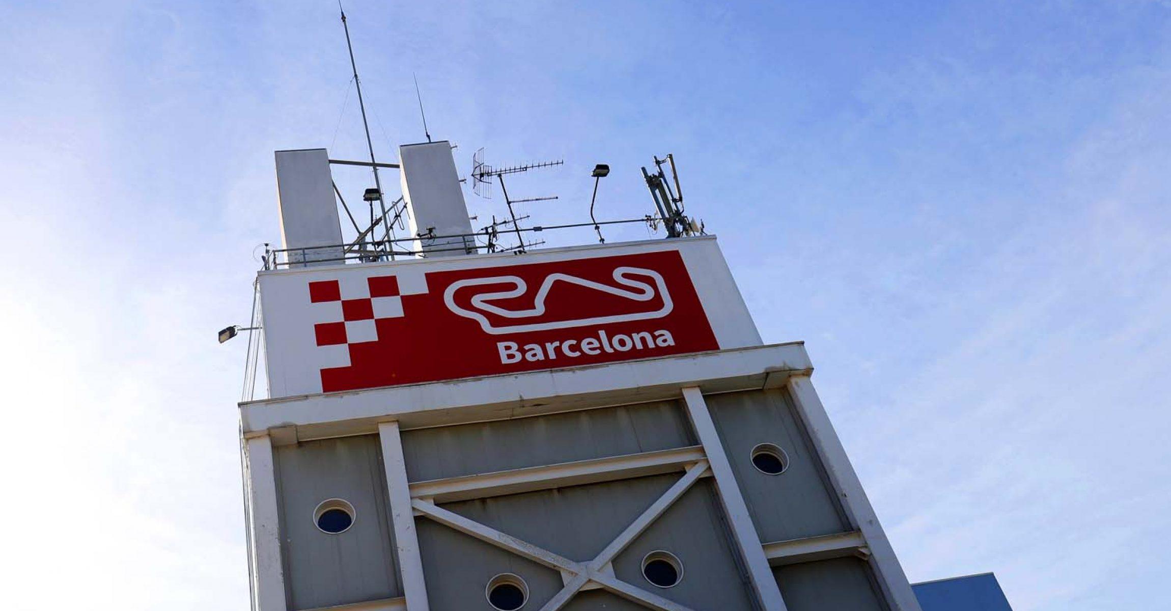 Circuit signage Circuit de Barcelona Catalunya