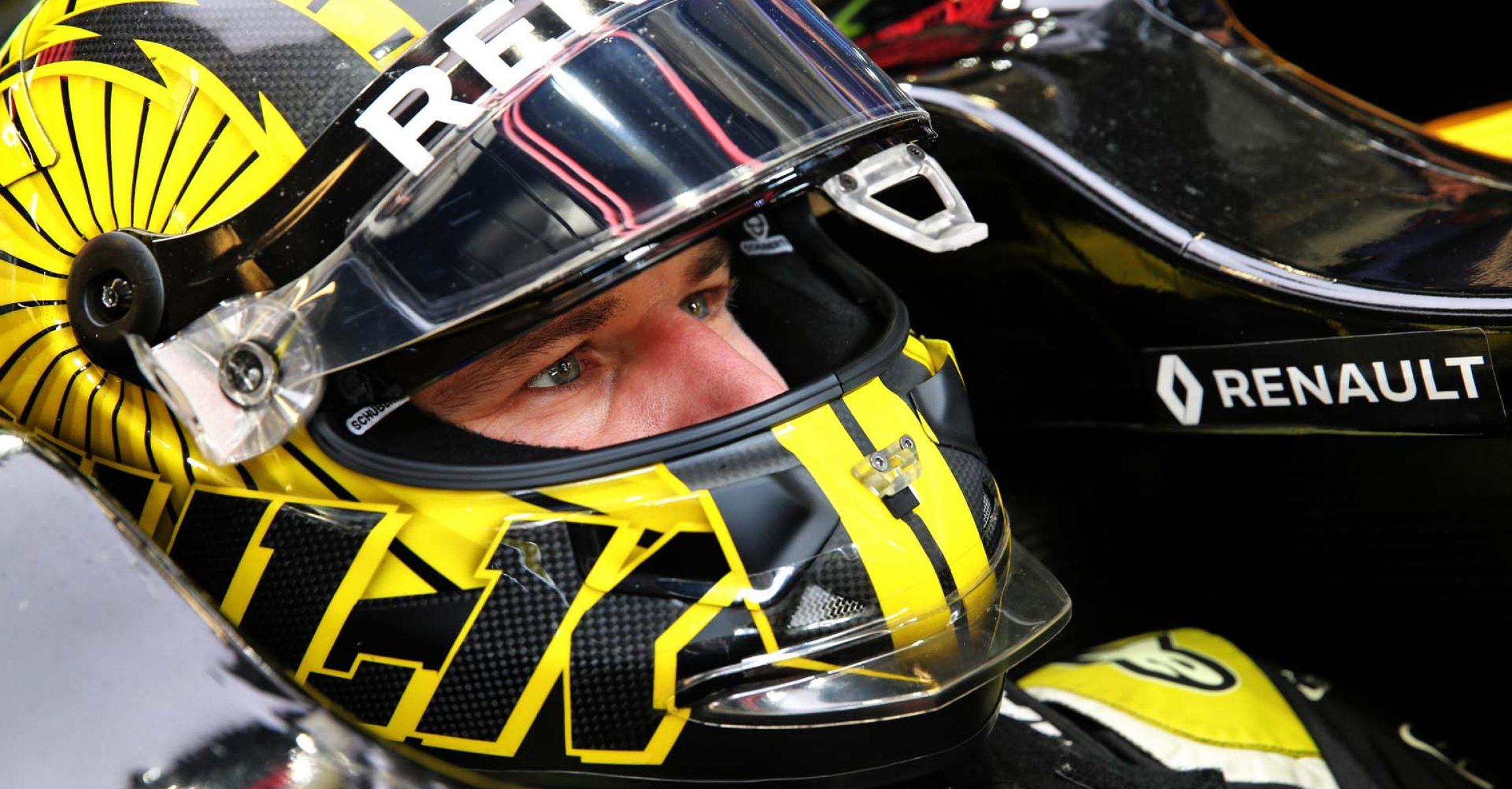Nico Hülkenberg (GER) Renault F1 Team RS19. United States Grand Prix, Saturday 2nd November 2019. Circuit of the Americas, Austin, Texas, USA.