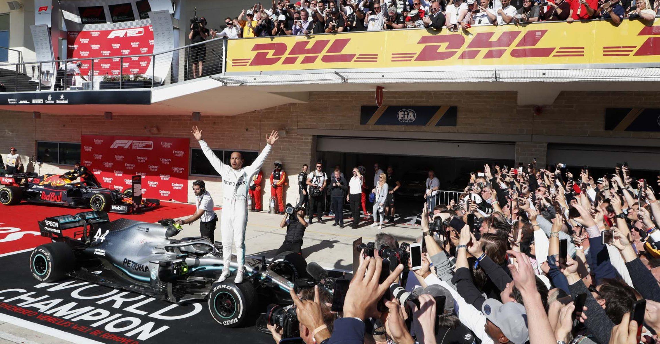 2019 United States Grand Prix, Sunday - Wolfgang Wilhelm Lewis Hamilton Mercedes