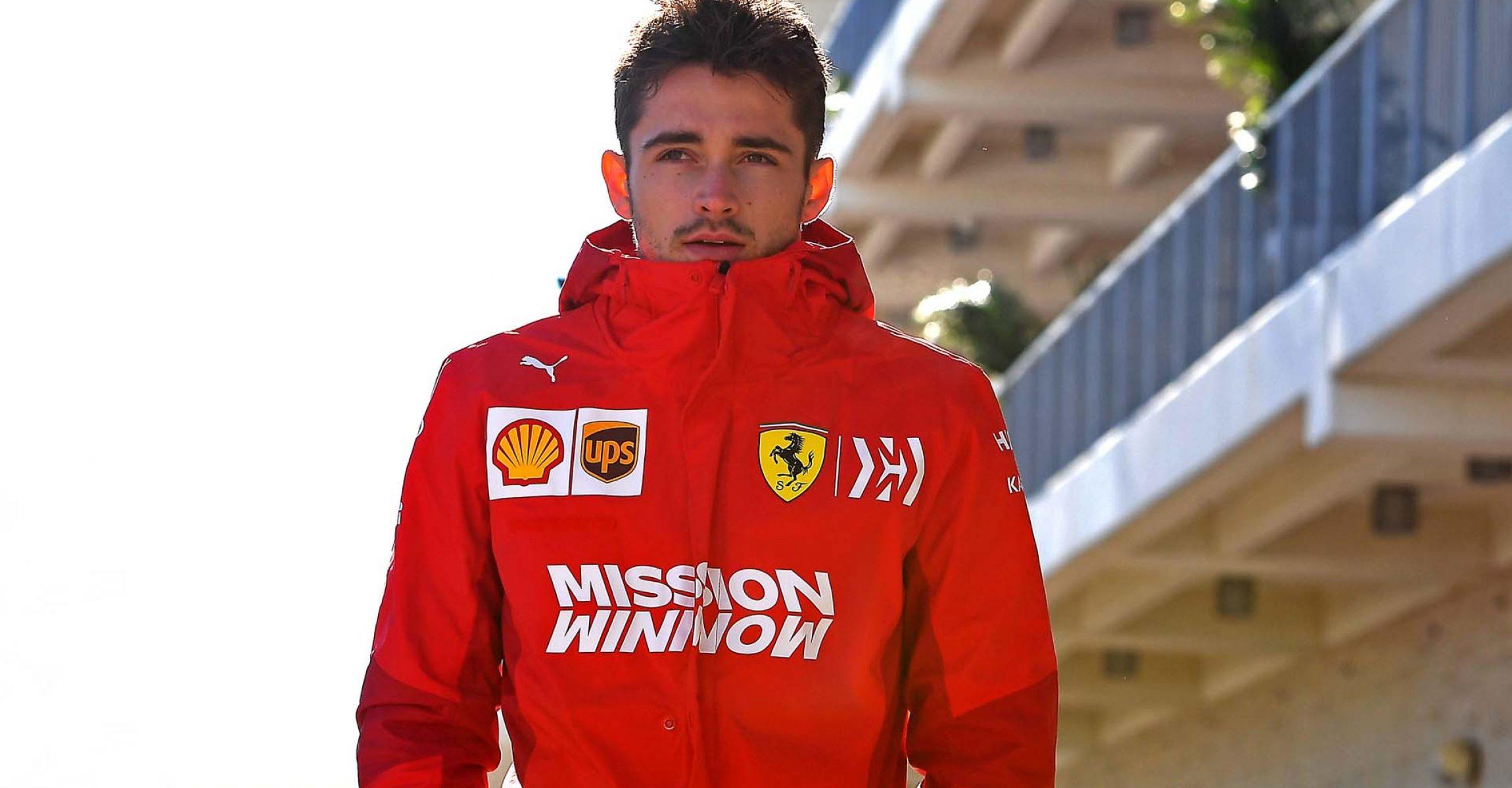 GP USA F1/2019 - GIOVEDÌ 31/10/2019 credit: @Scuderia Ferrari Press Office Charles Leclerc Ferrari
