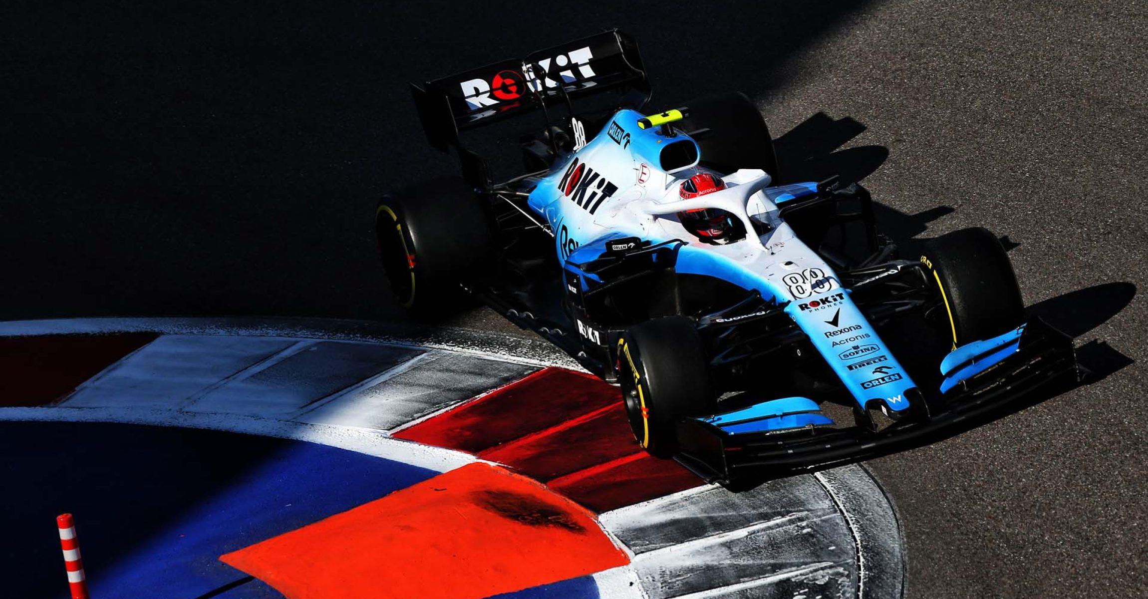 Robert Kubica (POL) Williams Racing FW42. Russian Grand Prix, Sunday 29th September 2019. Sochi Autodrom, Sochi, Russia.