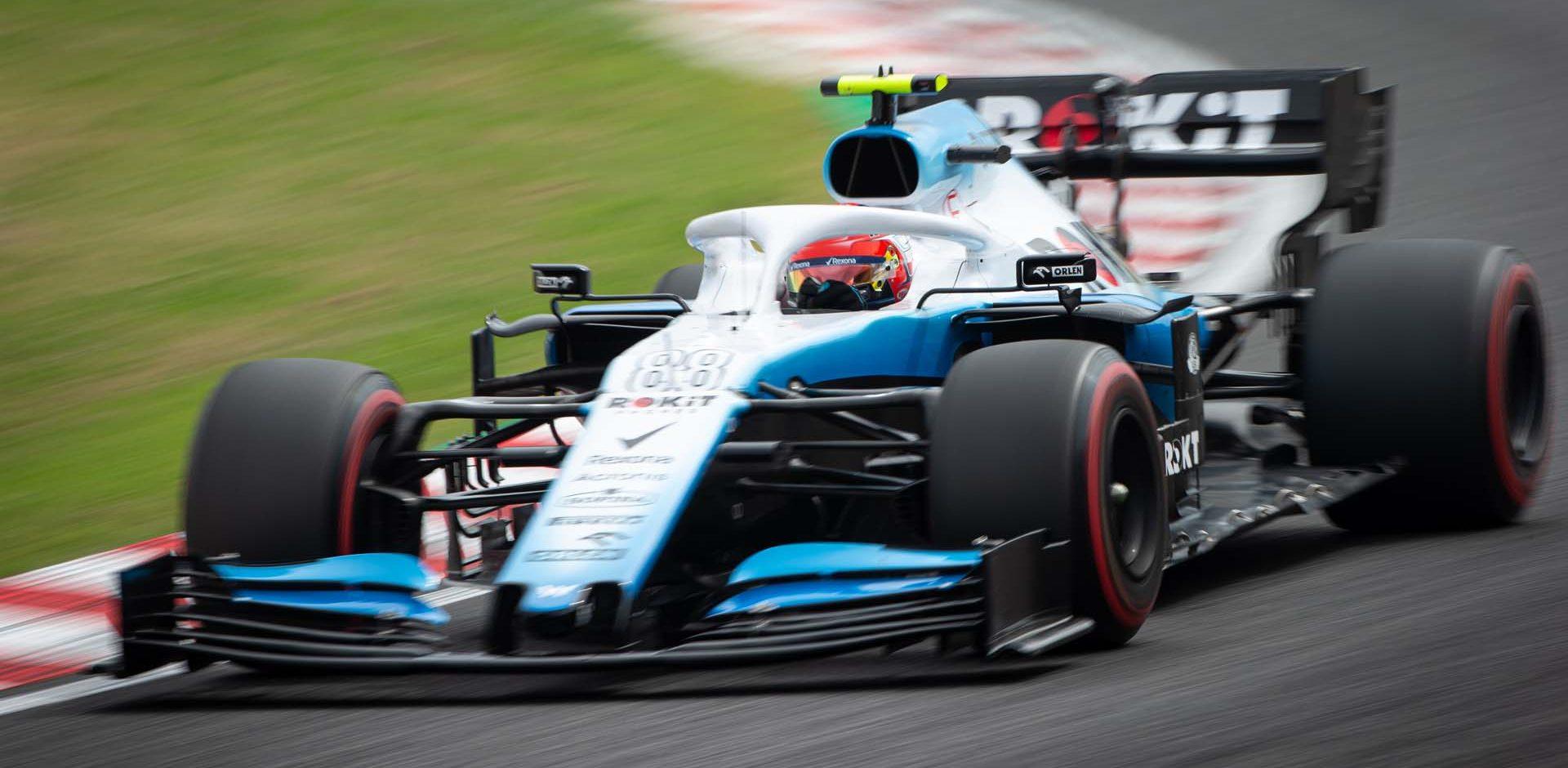Robert Kubica (POL) Williams Racing FW42. Japanese Grand Prix, Friday 11th October 2019. Suzuka, Japan.