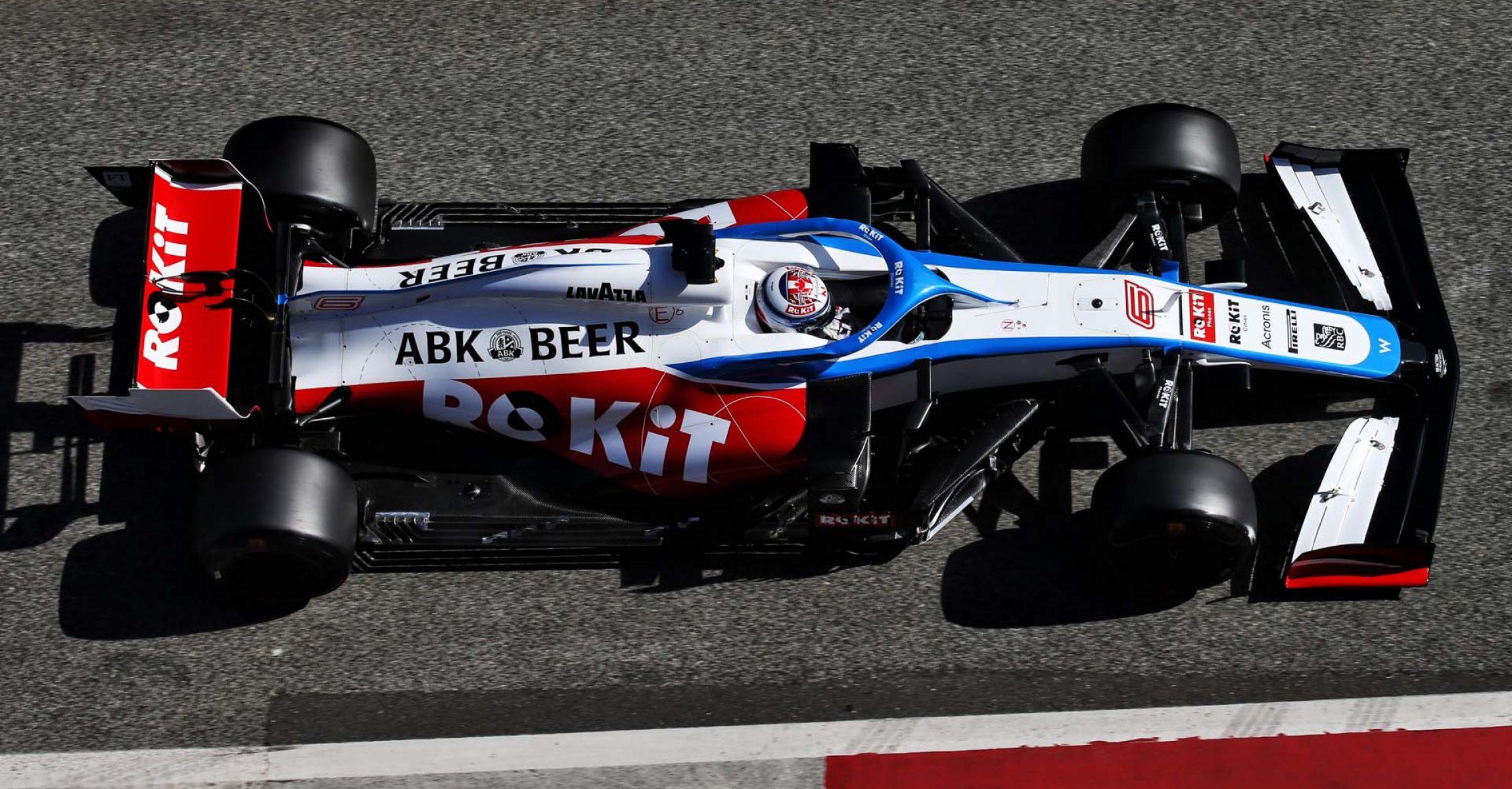 Nicholas Latifi (CDN) Williams Racing FW43. Formula One Testing, Day 2, Thursday 27th February 2020. Barcelona, Spain.