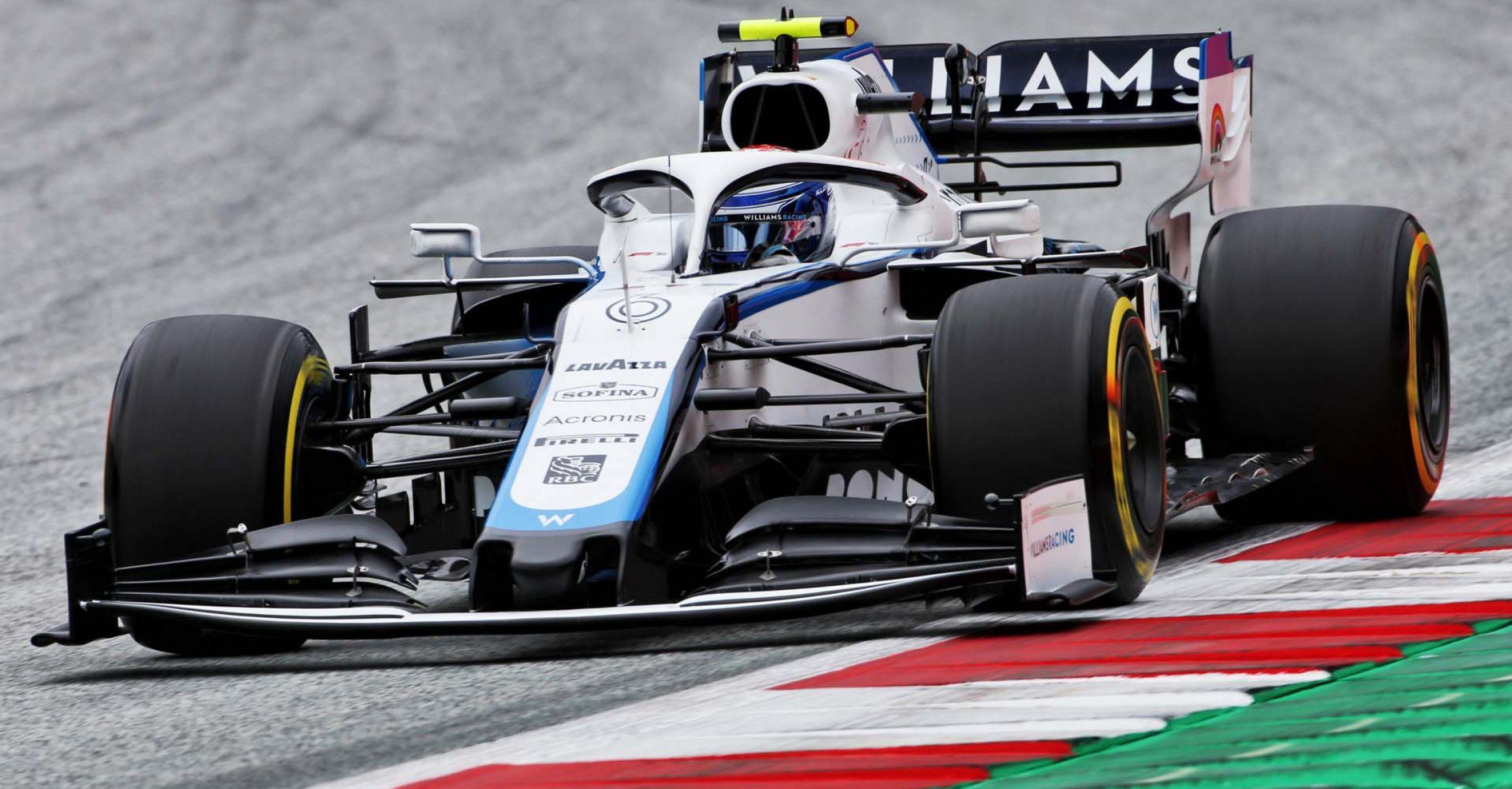 Nicholas Latifi (CDN) Williams Racing FW43. Austrian Grand Prix, Friday 3rd July 2020. Spielberg, Austria.