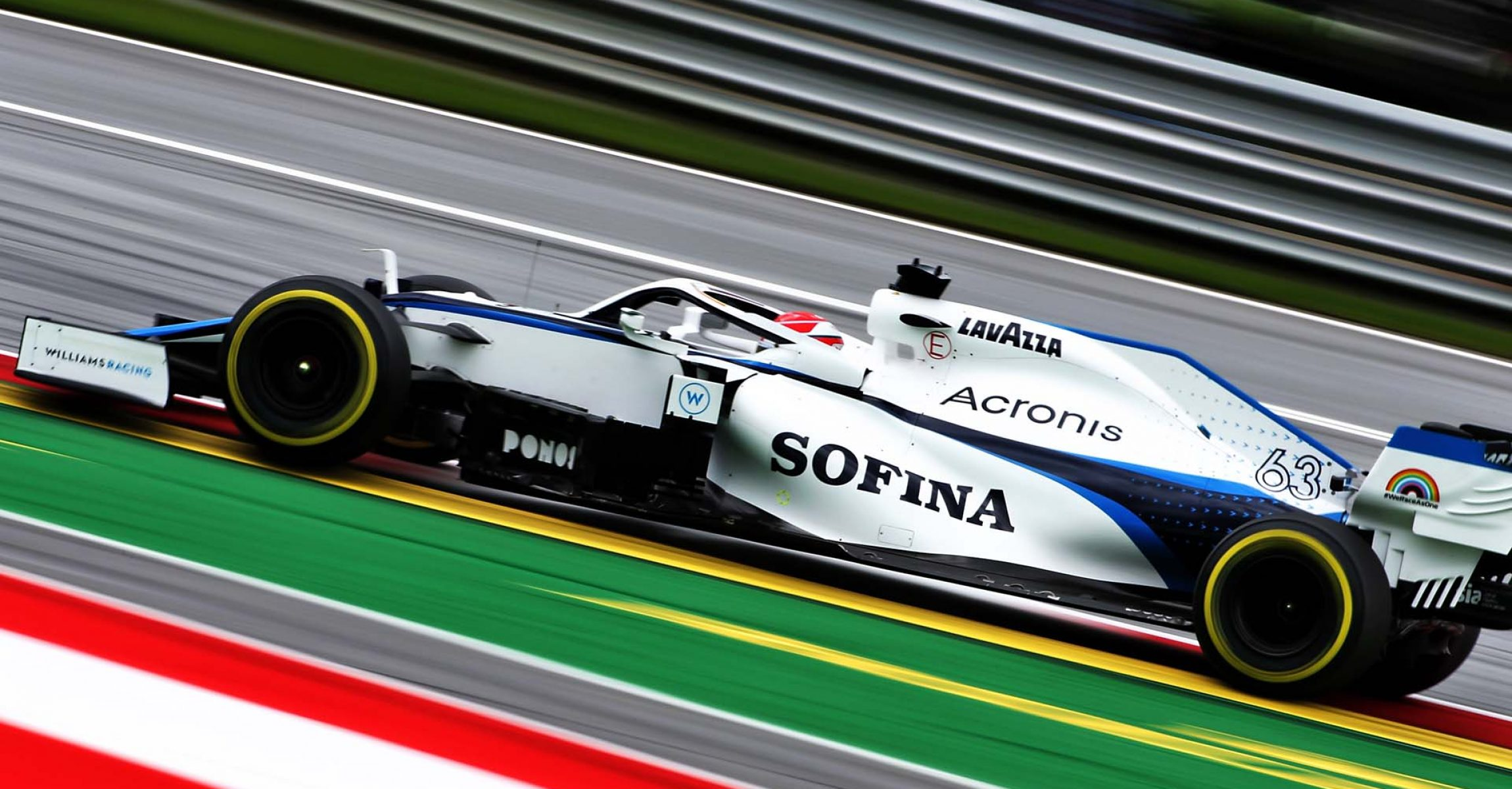 George Russell (GBR) Williams Racing FW43. Austrian Grand Prix, Friday 3rd July 2020. Spielberg, Austria.