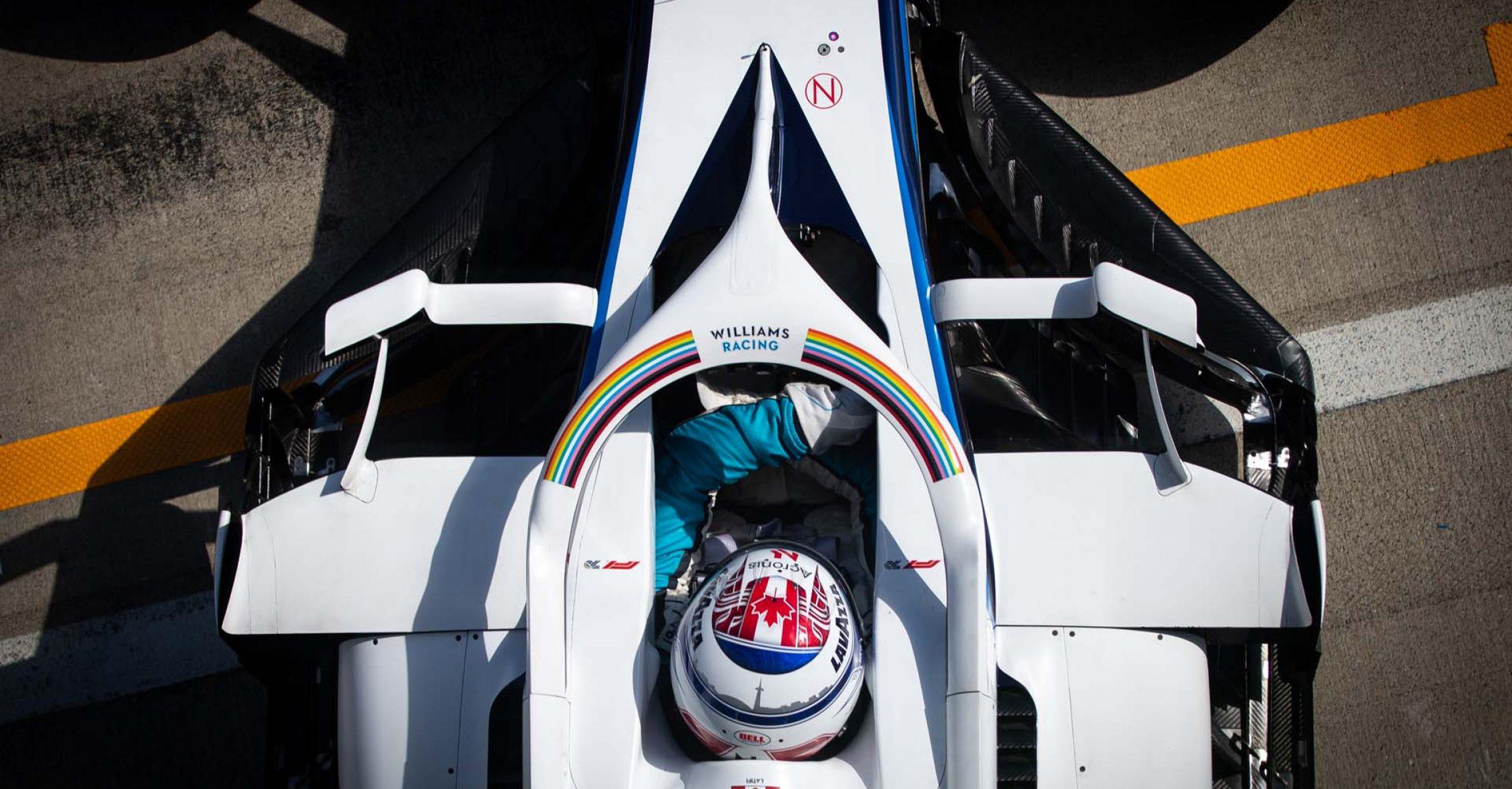 Nicholas Latifi (CDN) Williams Racing FW43. Steiermark Grand Prix, Friday 10th July 2020. Spielberg, Austria.