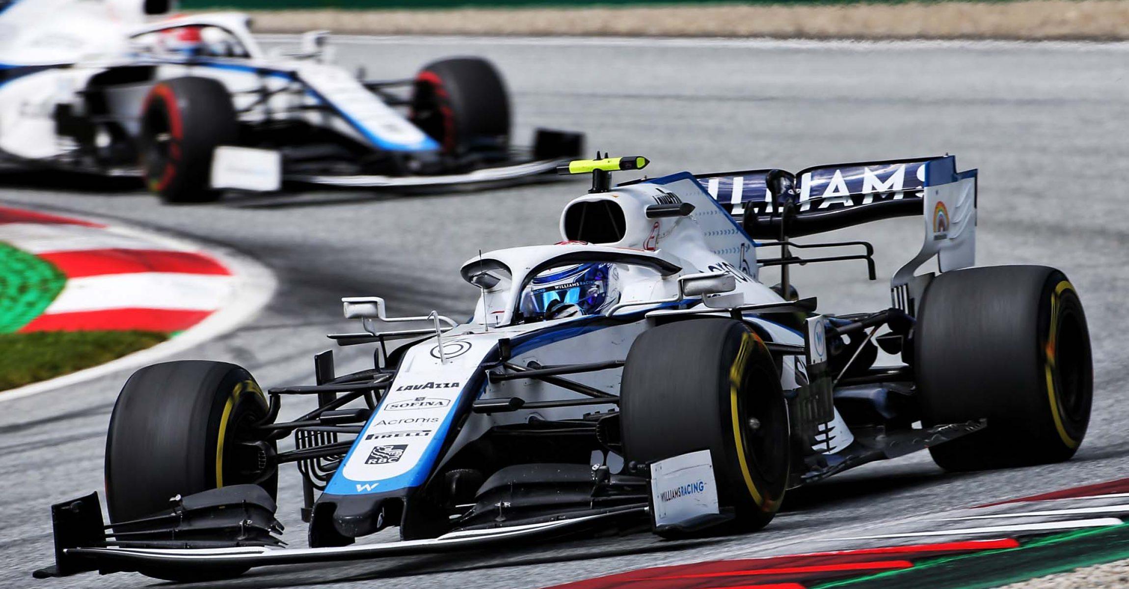 Nicholas Latifi (CDN) Williams Racing FW43. Steiermark Grand Prix, Sunday 12th July 2020. Spielberg, Austria.